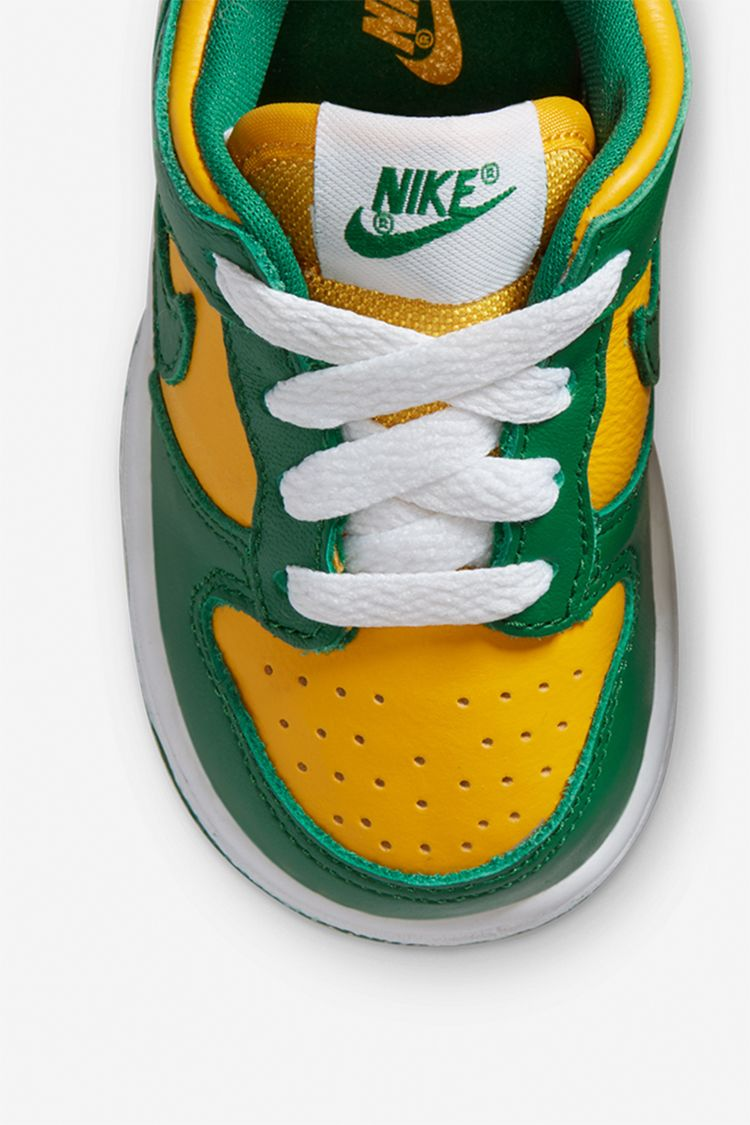 Toddler Dunk Low 'Brazil' Release Date