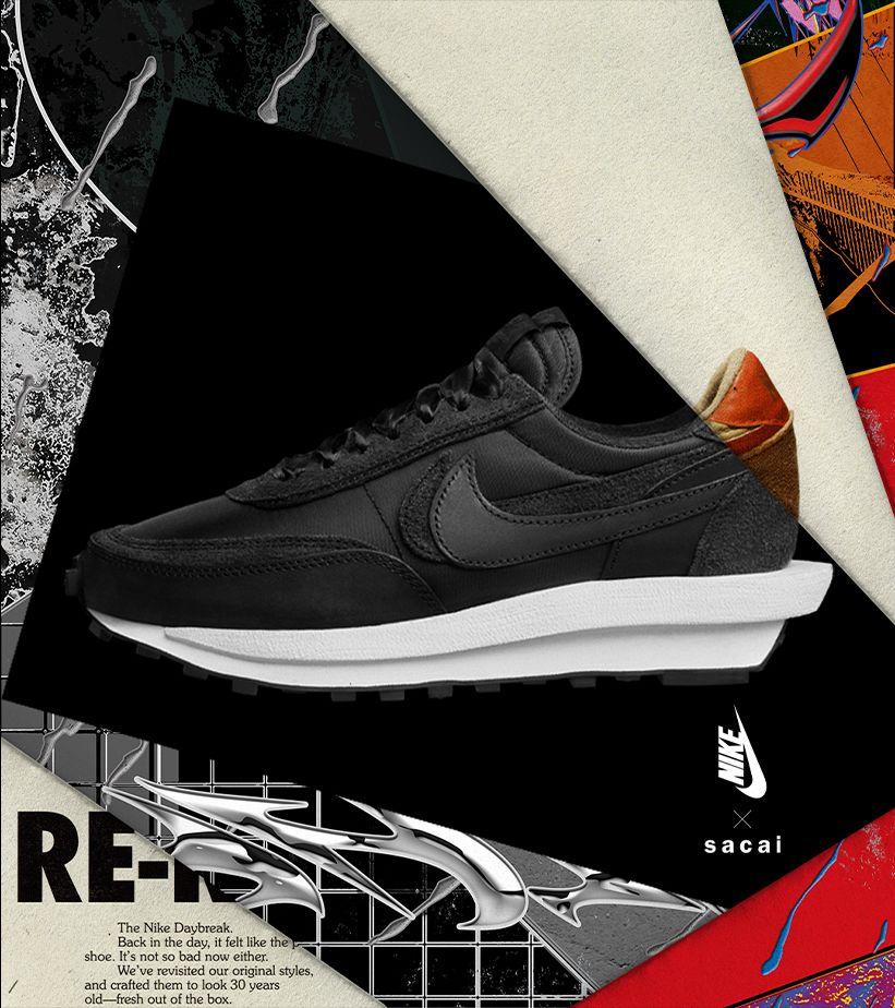 Nike x sacai 'LDV Waffle' 發售日期