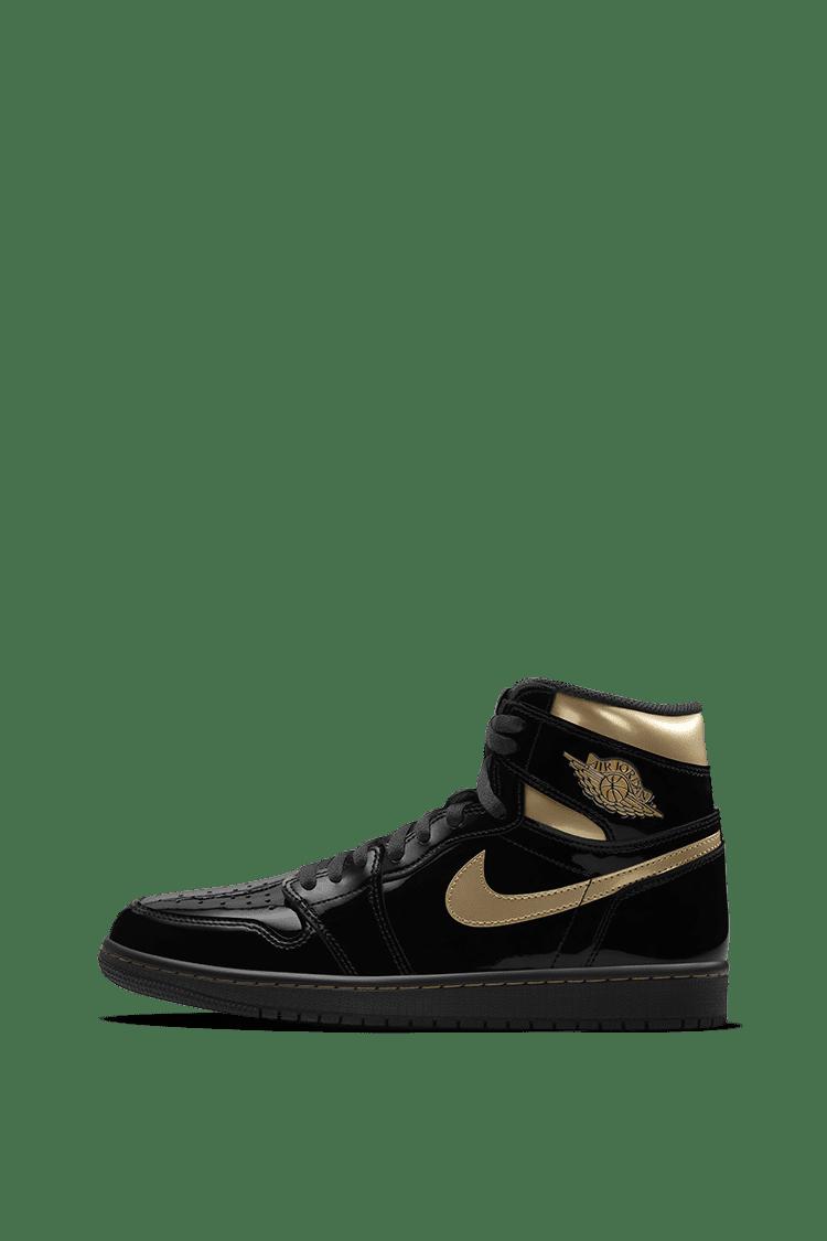 jordan 1 black and gold