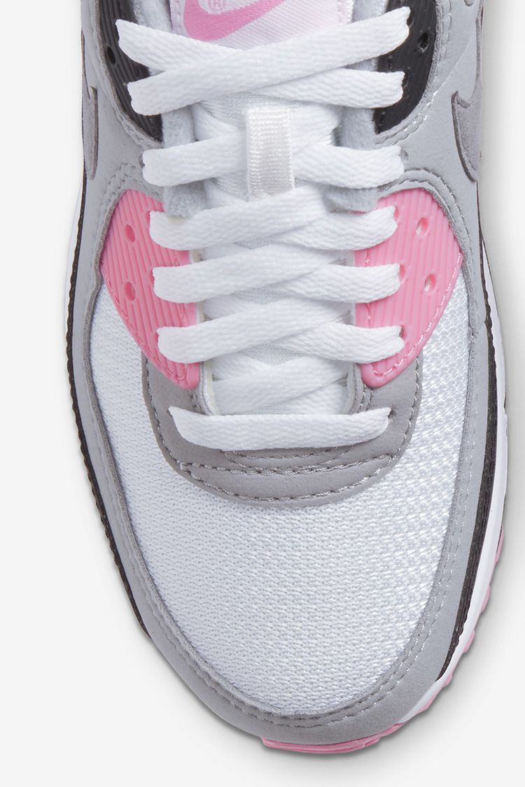 Women's Air Max 90 'Rose/Smoke Grey' Release Date. Nike SNKRS