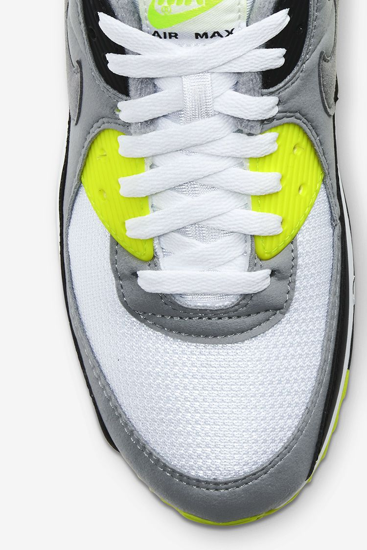 Air Max 90 'Volt/Particle Grey' Release Date. Nike SNKRS ID