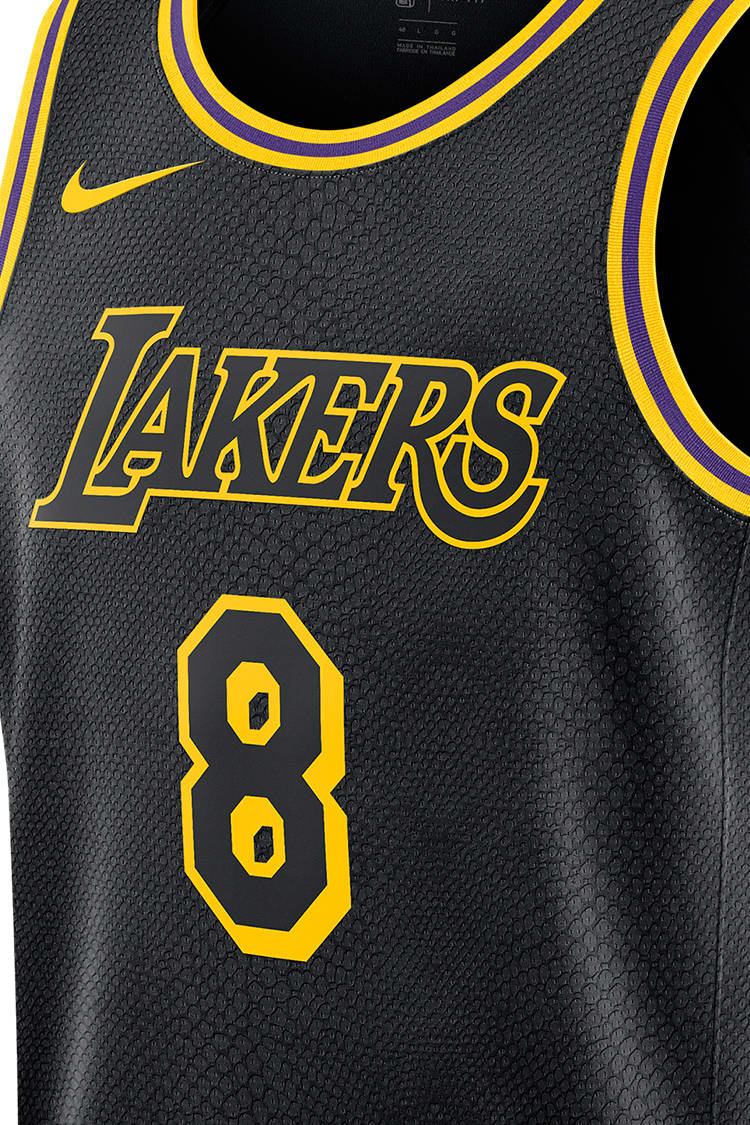 Lakers Edition Jersey Black Mamba Release Date Nike Snkrs