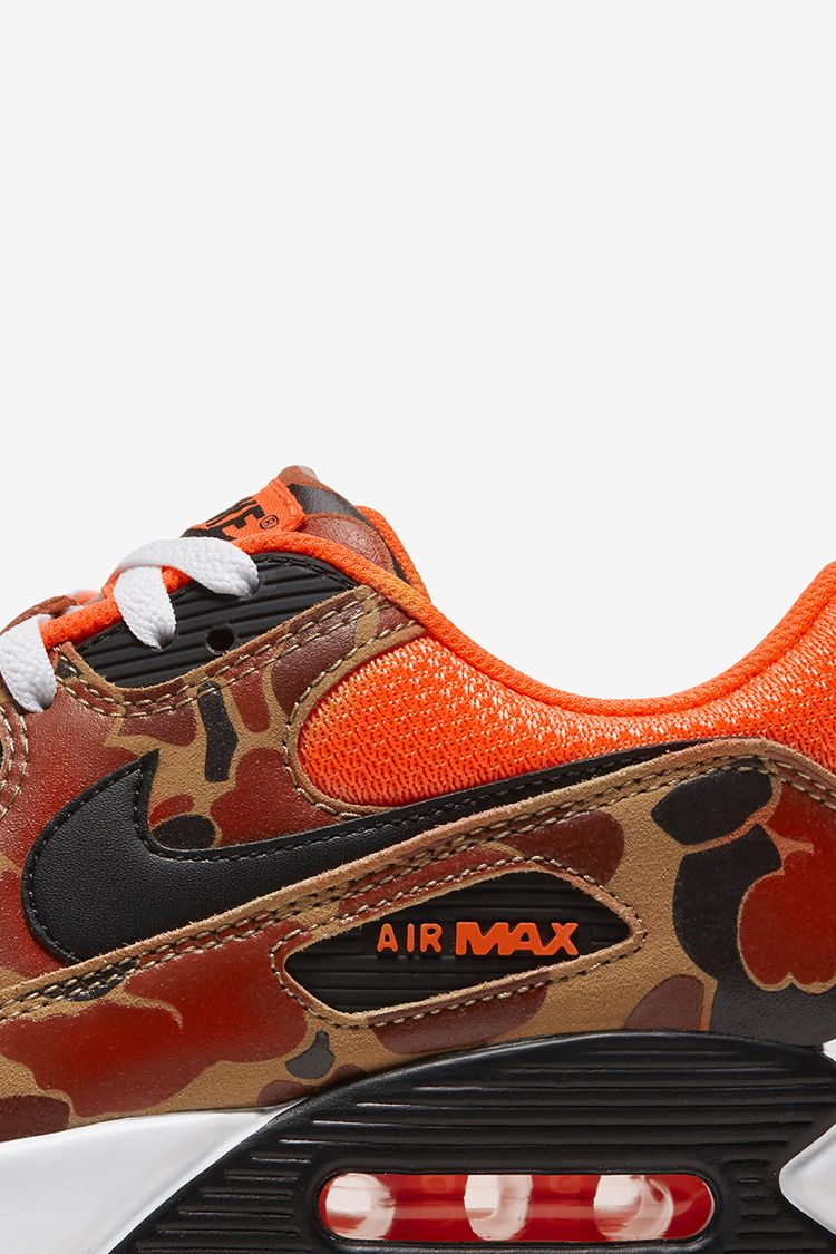 Air Max 90 'Orange Duck Camo' Release Date. Nike SNKRS MY