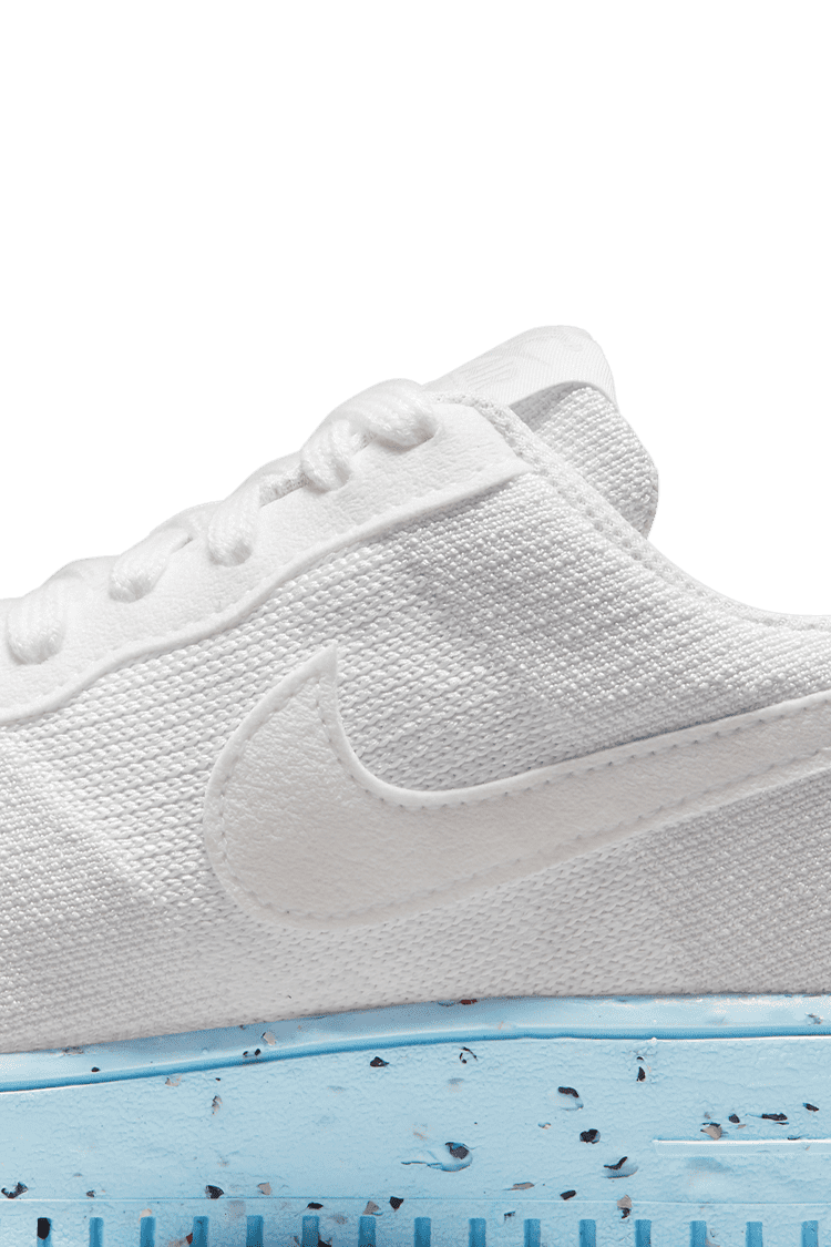 WMNS AIR FORCE 1 CRATER FLYKNIT 'PURE PLATINUM'