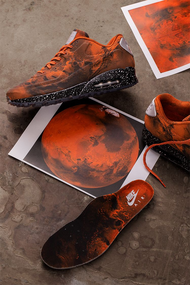 Behind The Design: Air Max 90 'Mars Landing' Release Date. Nike SNKRS