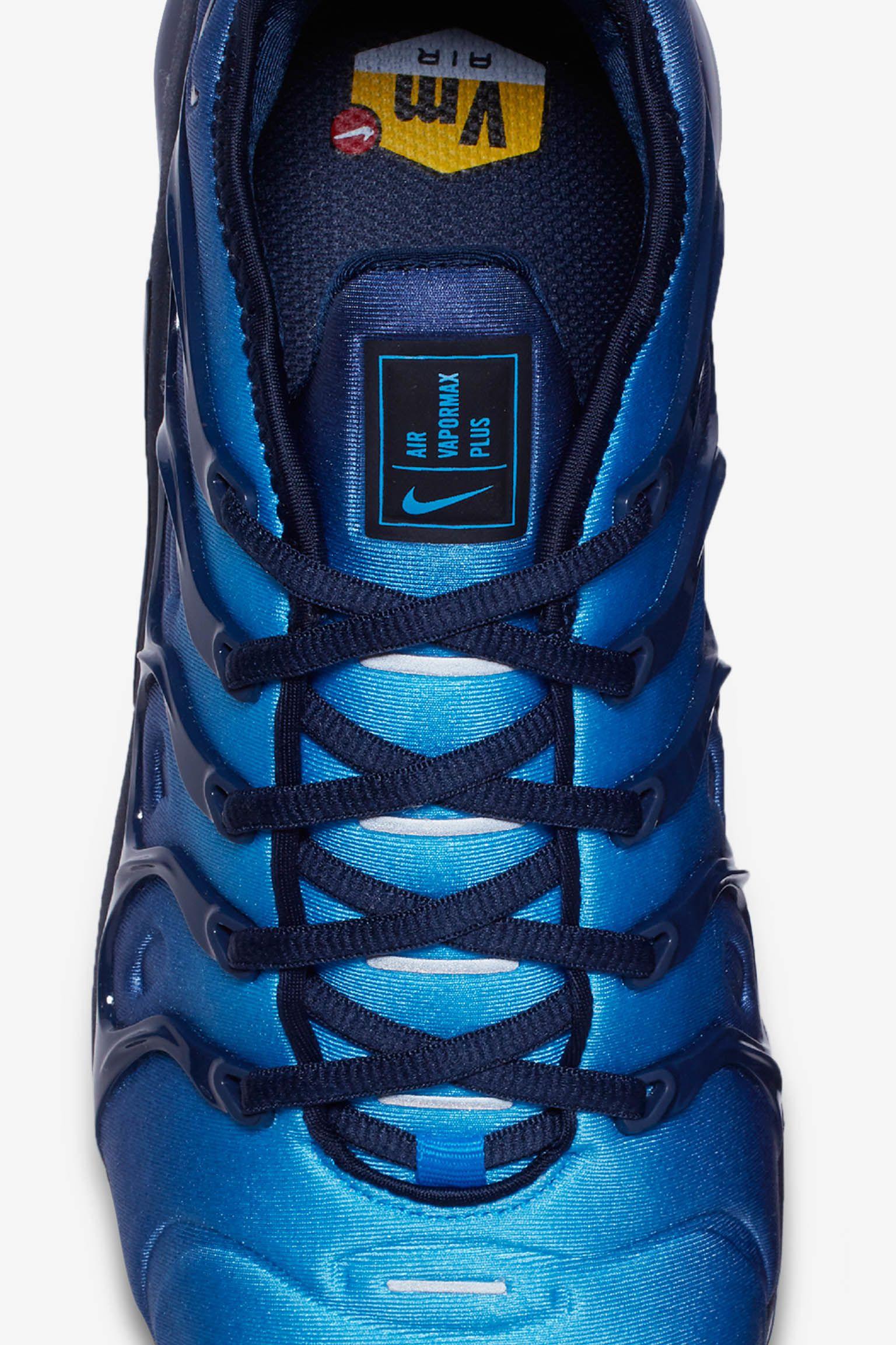 Nike Air VaporMax Plus 'Obsidian & Photo Blue' Release Date ...