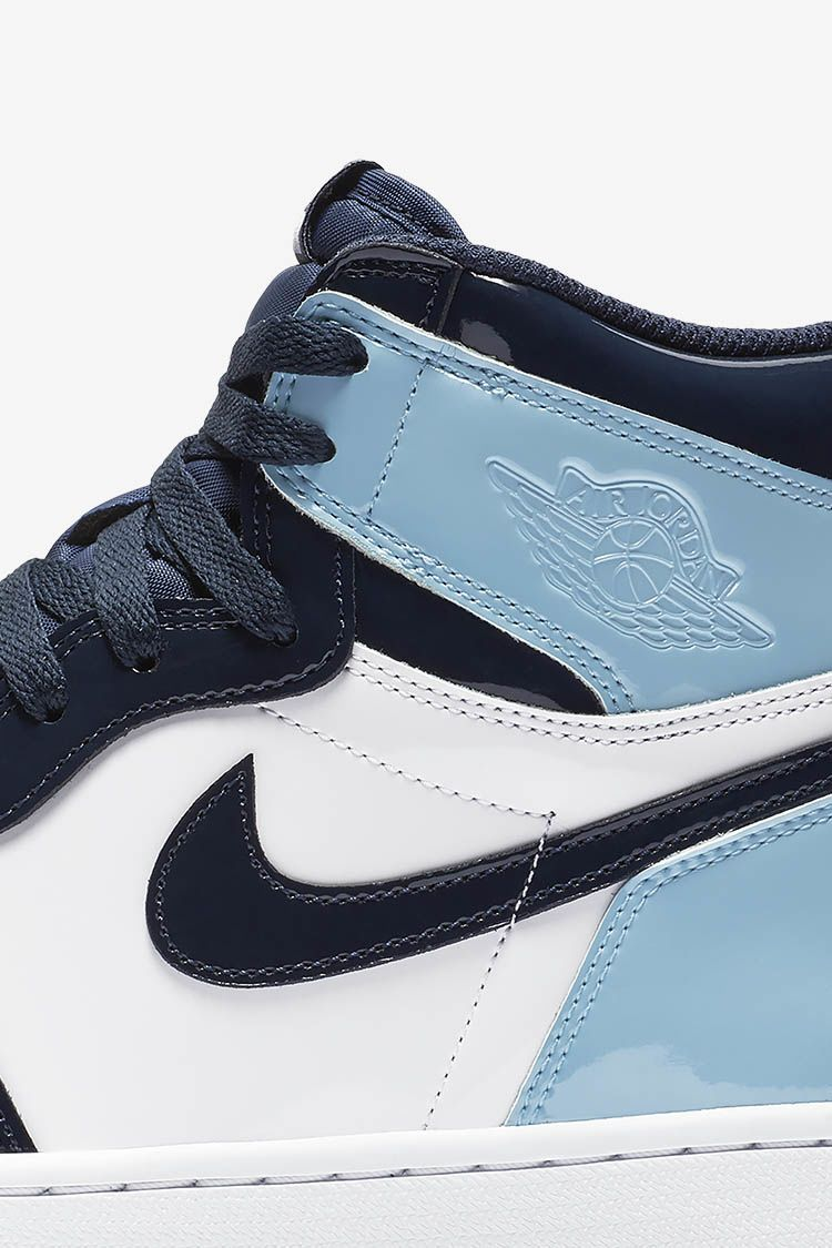Women's Air Jordan 1 High 'Blue Chill & Obsidian & White ...