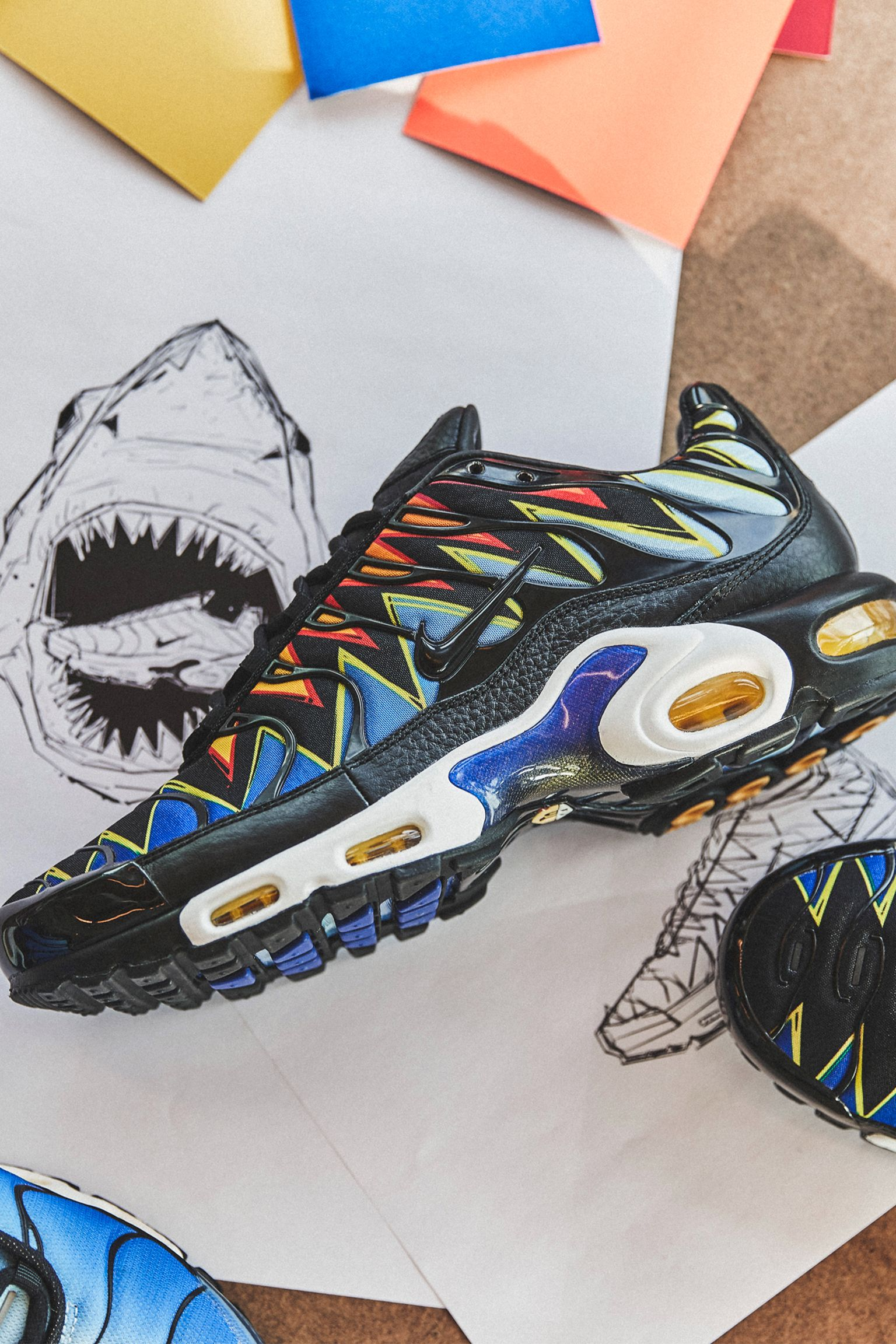 Behind The Design: Air Max Plus Requin. Nike SNKRS GB