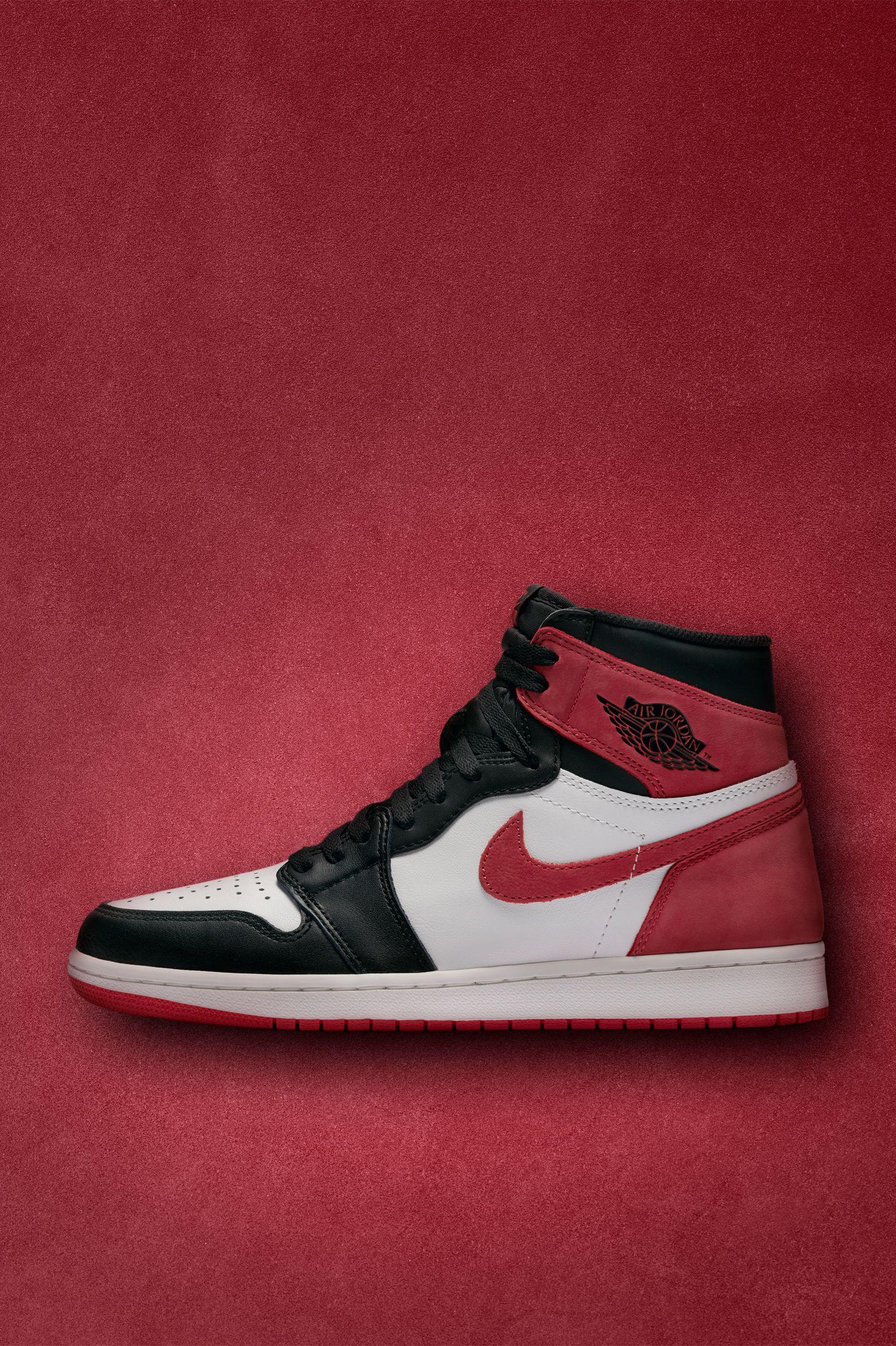 Nike Air Jordan 1 'Summit White &Track Red & Black' Release Date ...