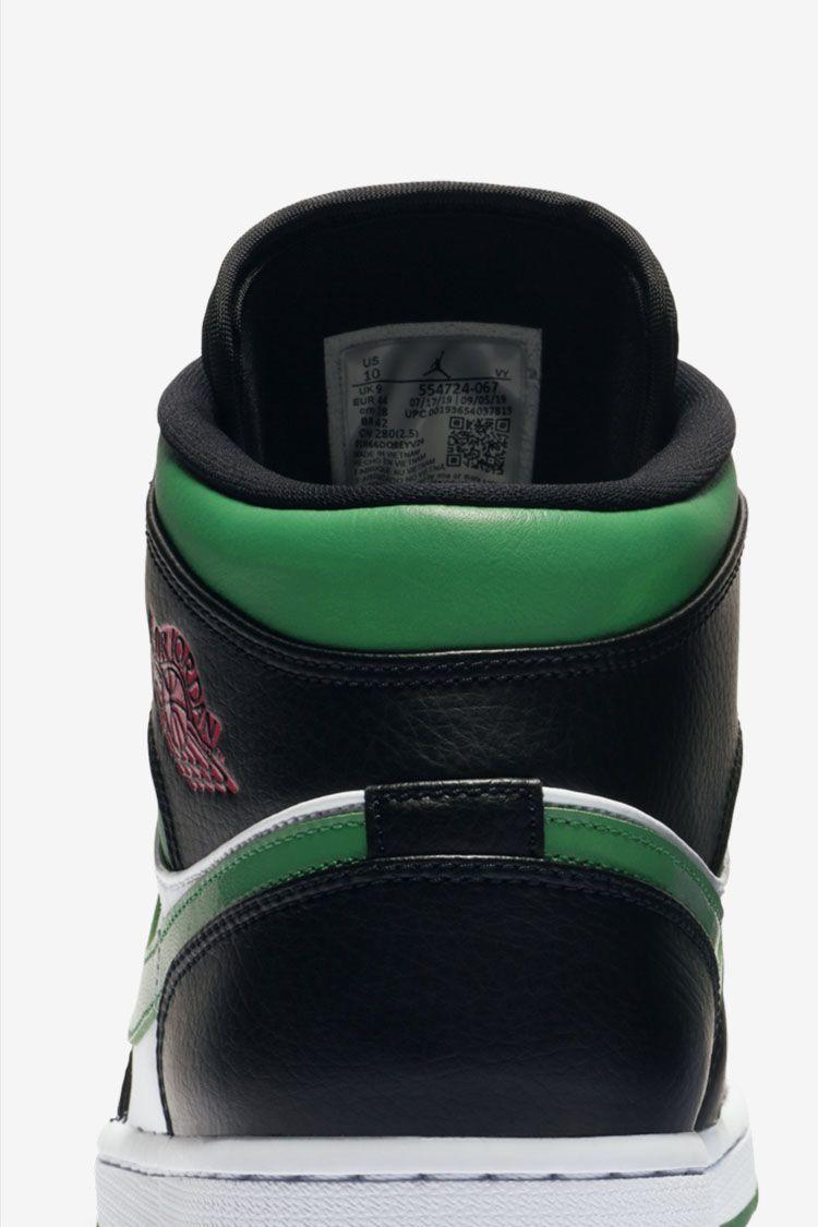 Air Jordan 1 Mid 'Pine Green' Release Date. Nike SNKRS ID
