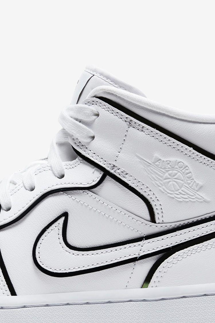 Women's Air Jordan 1 Mid 'White Lightning' Release Date. Nike SNKRS MY