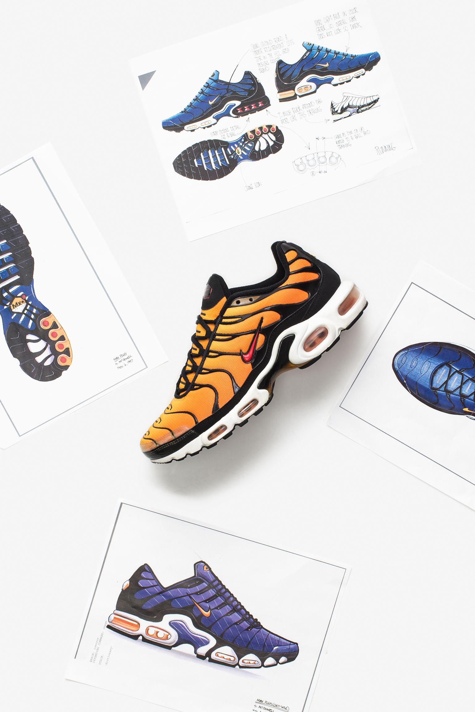 À l'origine du design : Nike Air VaporMax Plus. Nike SNKRS FR
