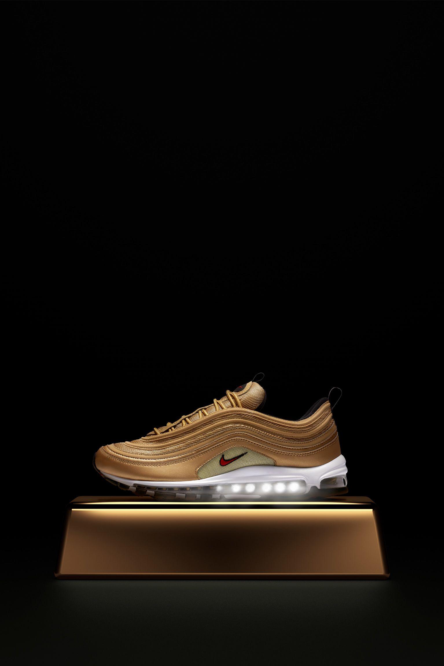 air max 97 donna gold