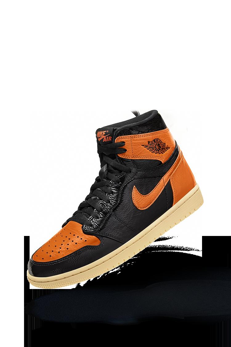 Air Jordan 1 'Black/Orange' Release Date. Nike SNKRS GB