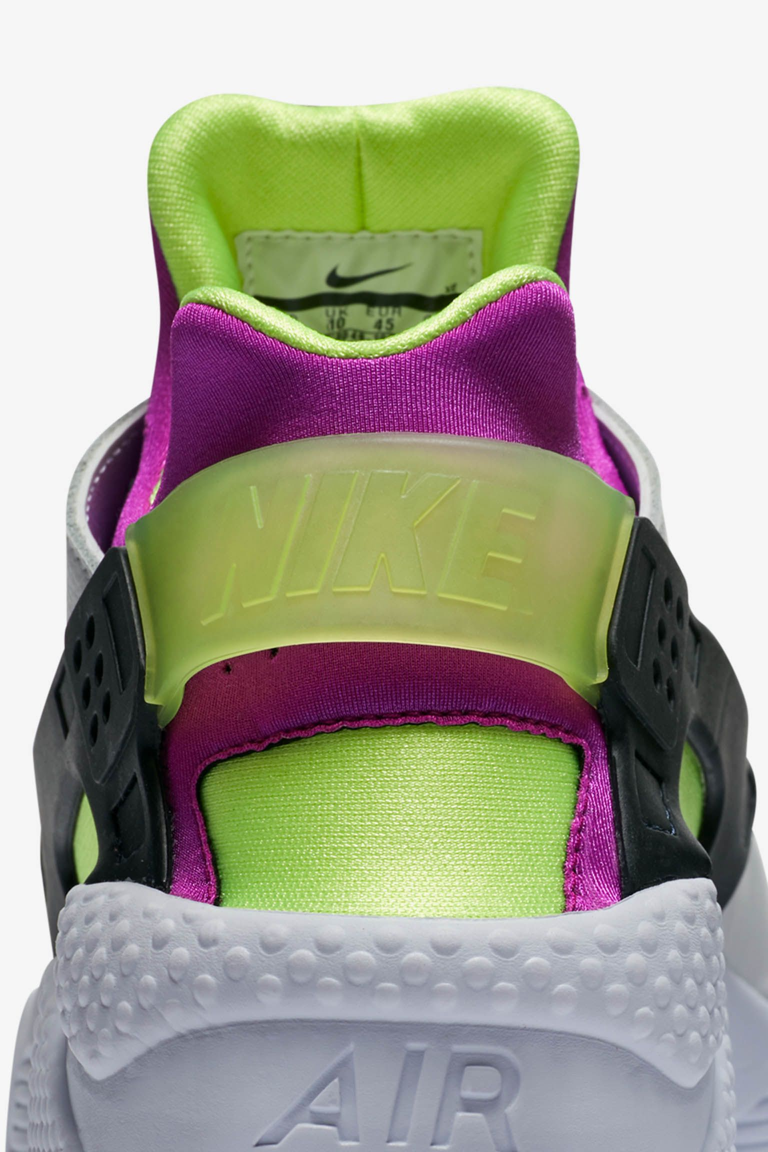 huarache fluo color