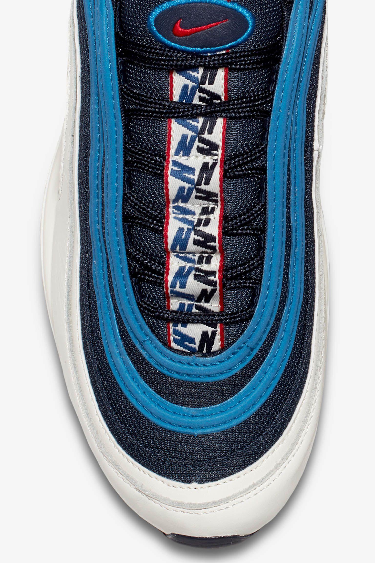 Nike Air Max 97 'Obsidian & Sail' Release Date. Nike SNKRS LU