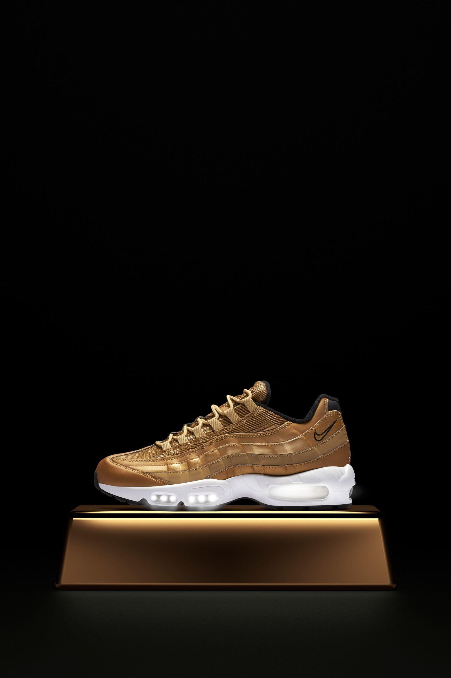 air max 95 uomo oro