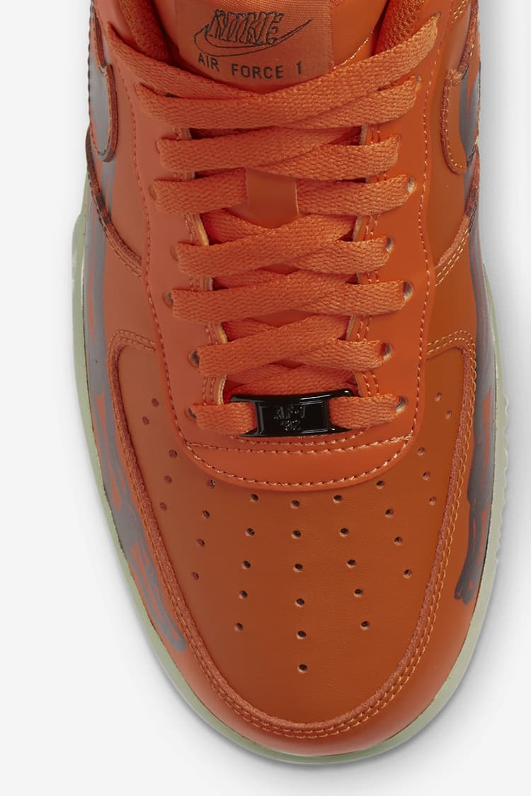 Date de sortie de la Air Force 1 Skeleton « Orange ». Nike SNKRS BE