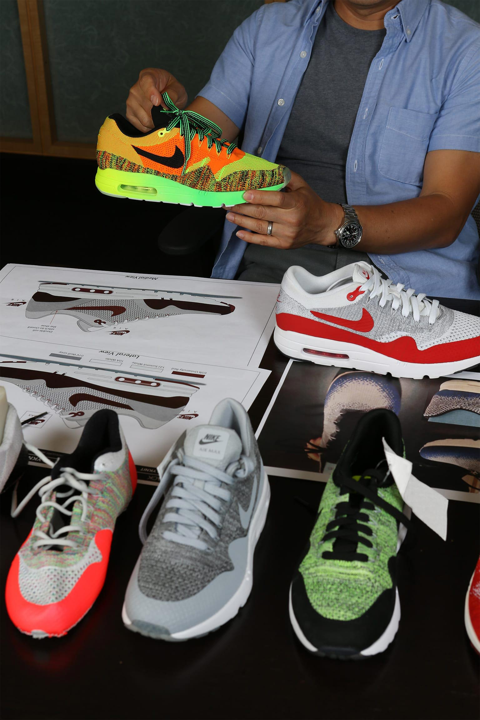 Behind the Design: Nike Air Max 1 Ultra Flyknit. Nike SNKRS