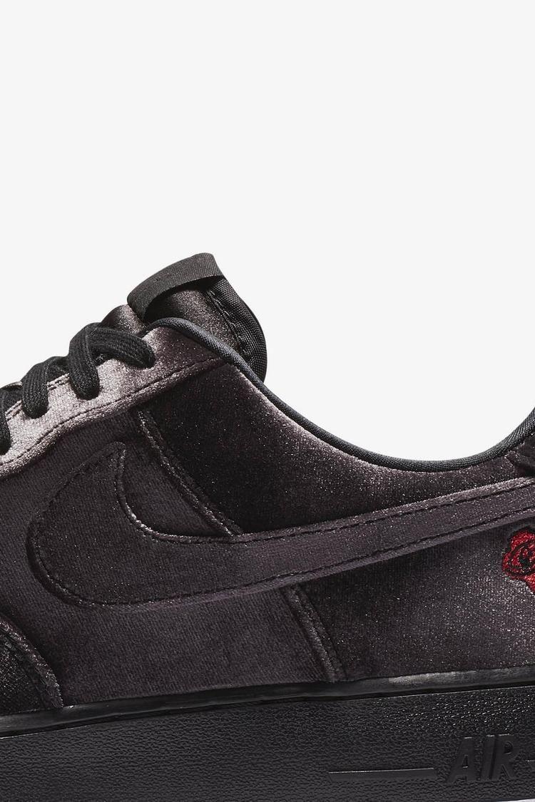 Nike Air Force 1 Velvet 'Black & White' Release Date. Nike SNKRS