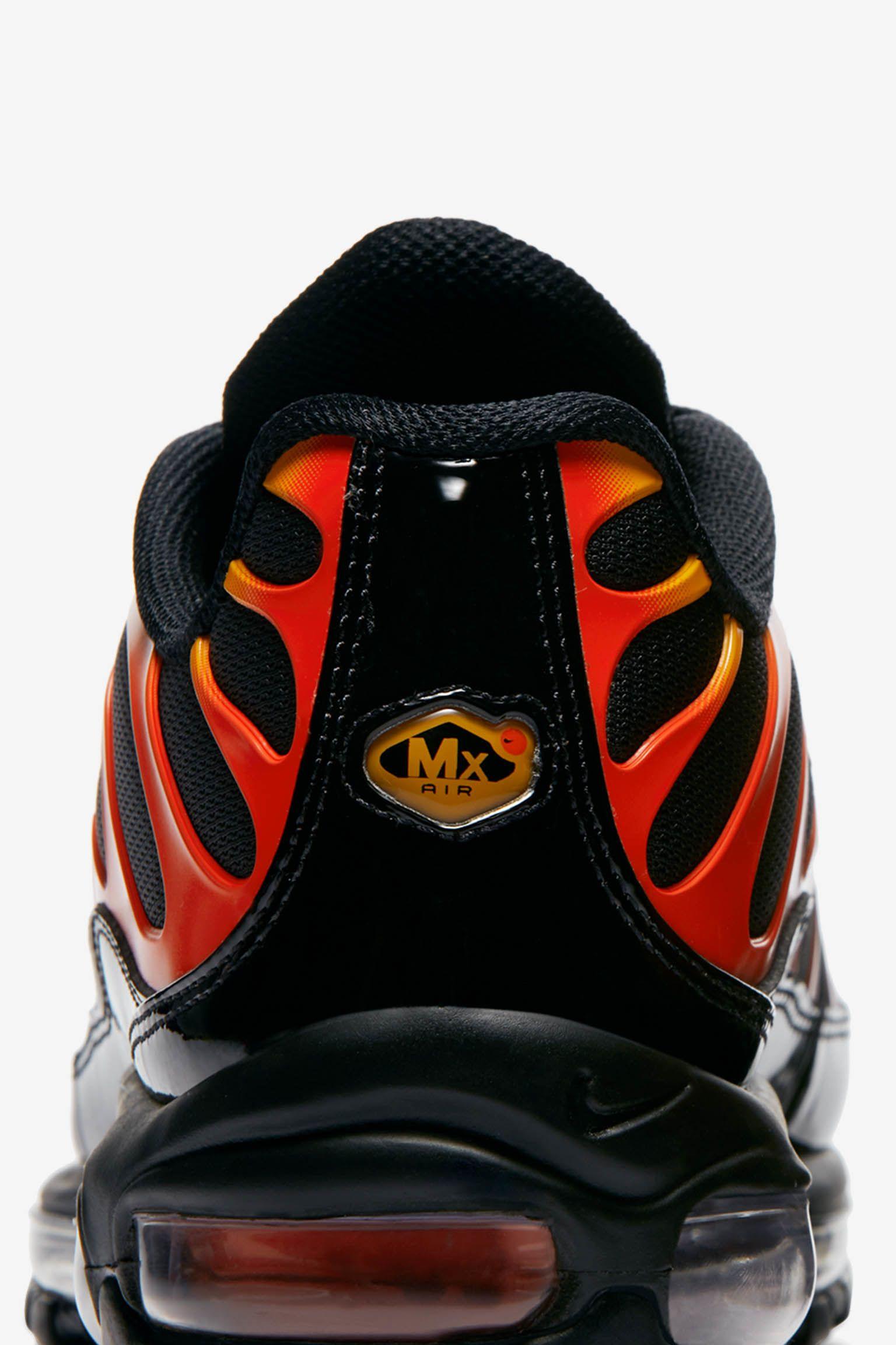 Nike Air Max 97 / Plus 'Shock Orange & Black' Release Date. Nike SNKRS