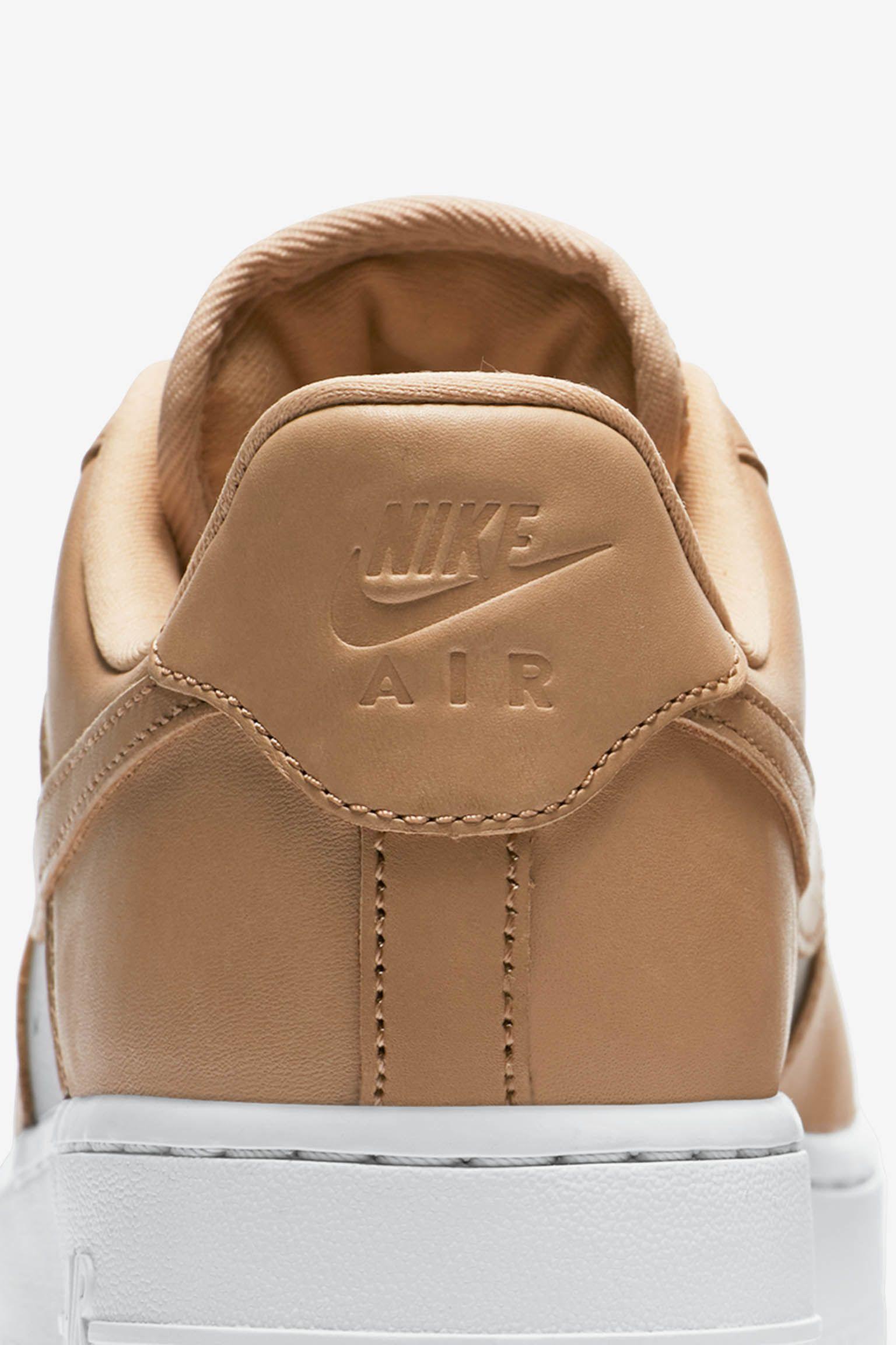 Nike Women's Air Force 1 'Bio Beige & Metallic Silver' Release ...