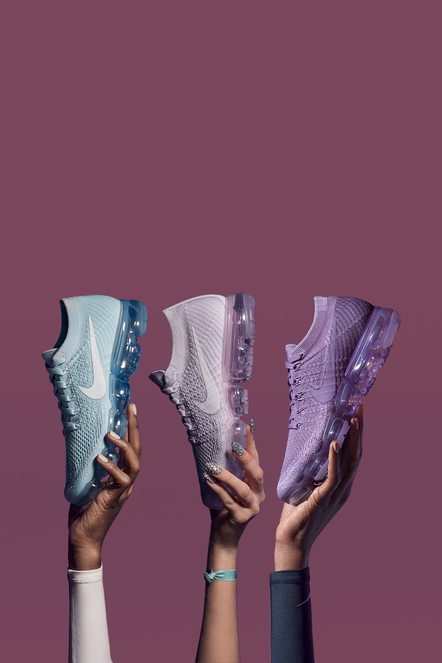 Women's Nike Air Vapormax Flyknit 'Day to Night' Collection. Nike ...