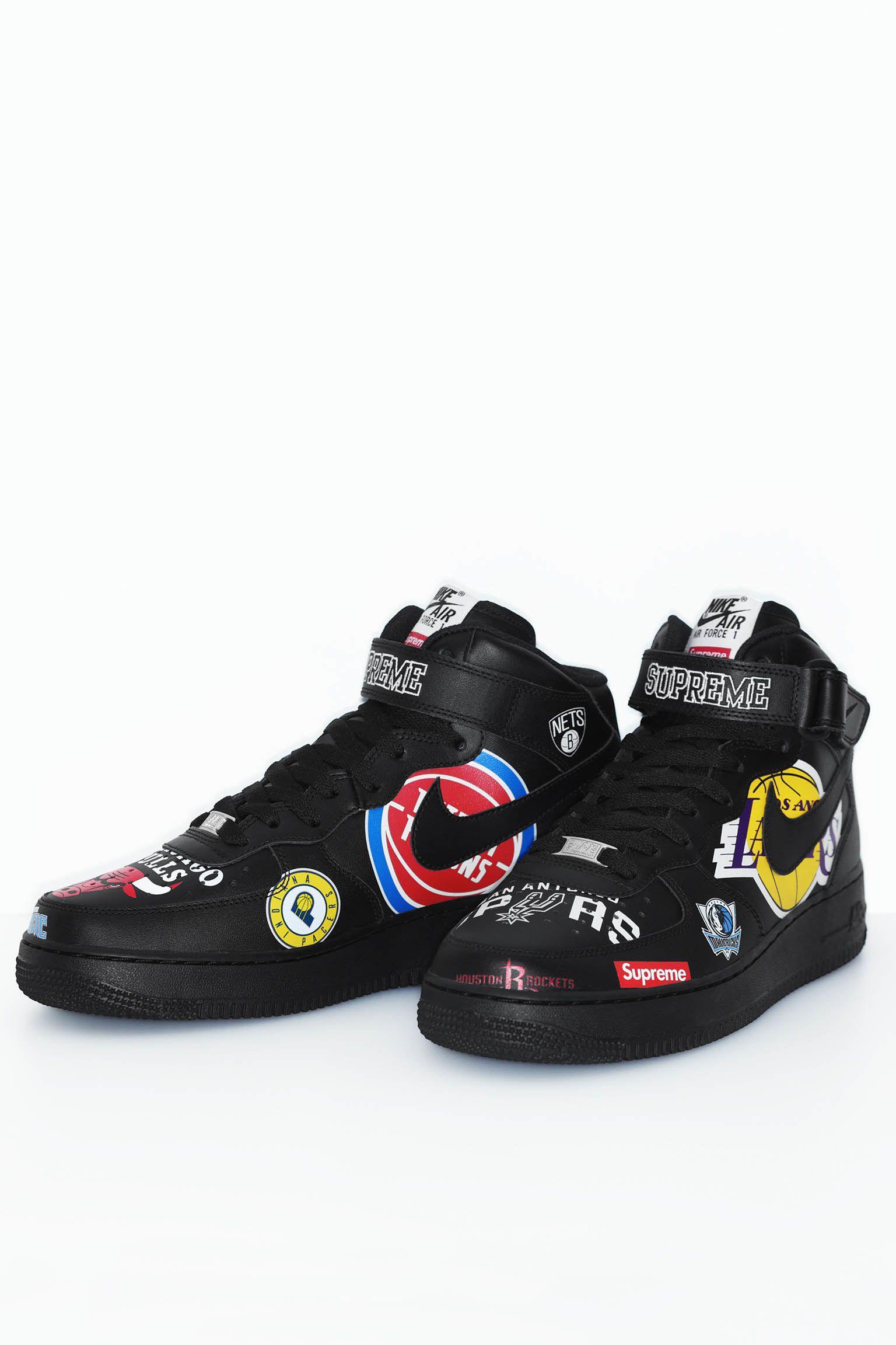 Nike x Supreme Air Force 1 Mid '07