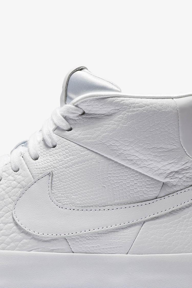 Nike Blazer Royal Qs 'Triple White' Release Date. Nike SNKRS