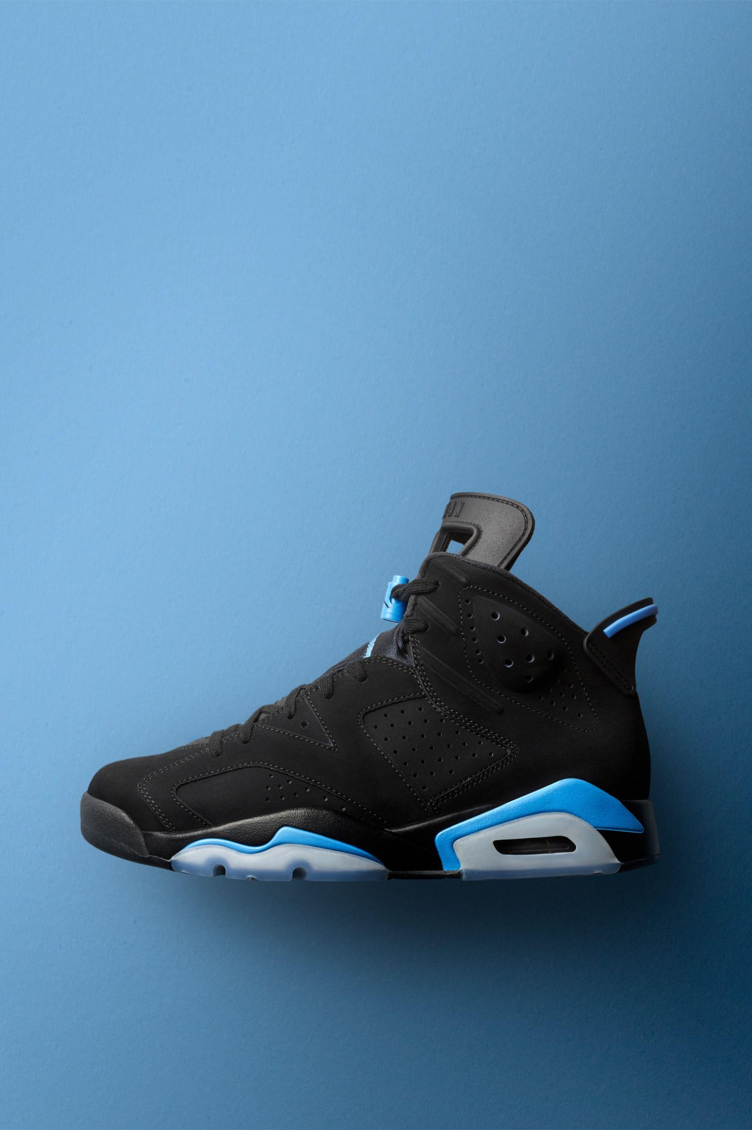 air jordan 6 noir et bleu