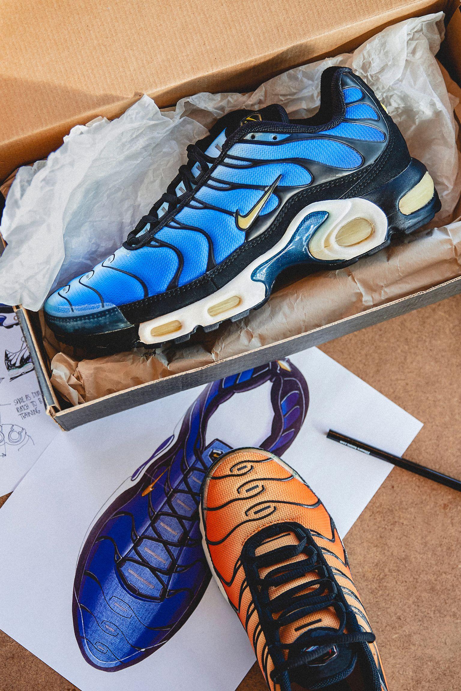 À l'origine du design: Air Max Plus Requin. Nike SNKRS FR