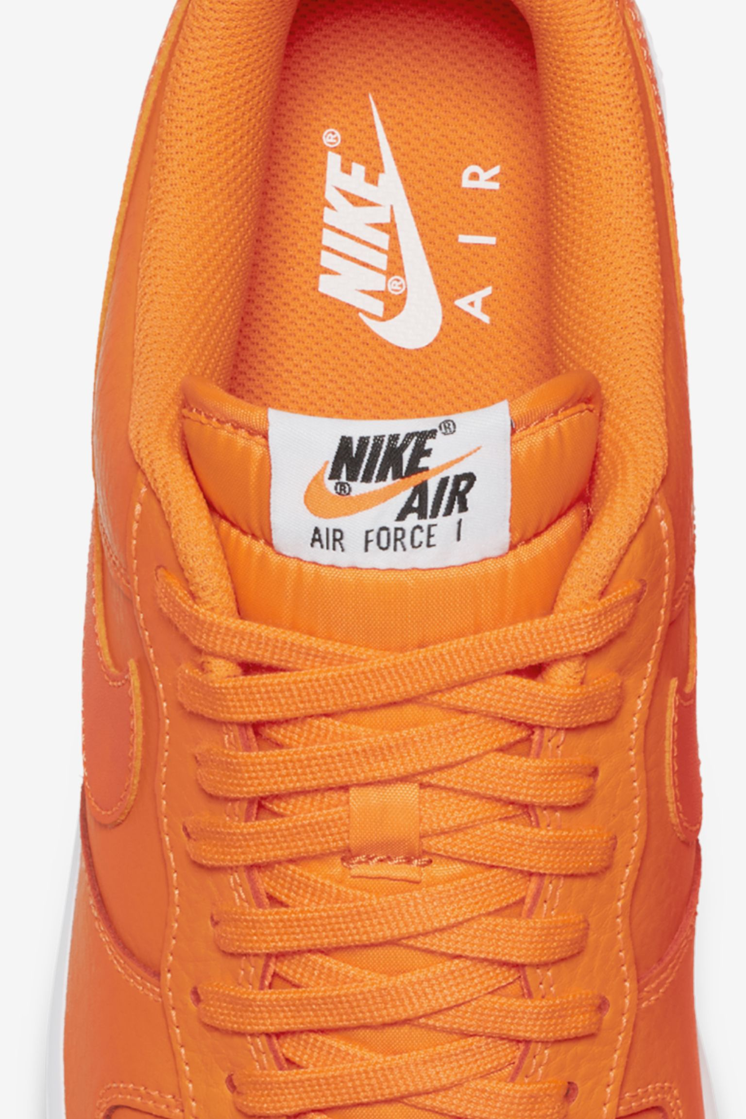 Nike Air Force 1 JDI Collection 'Total Orange & White' Release ...