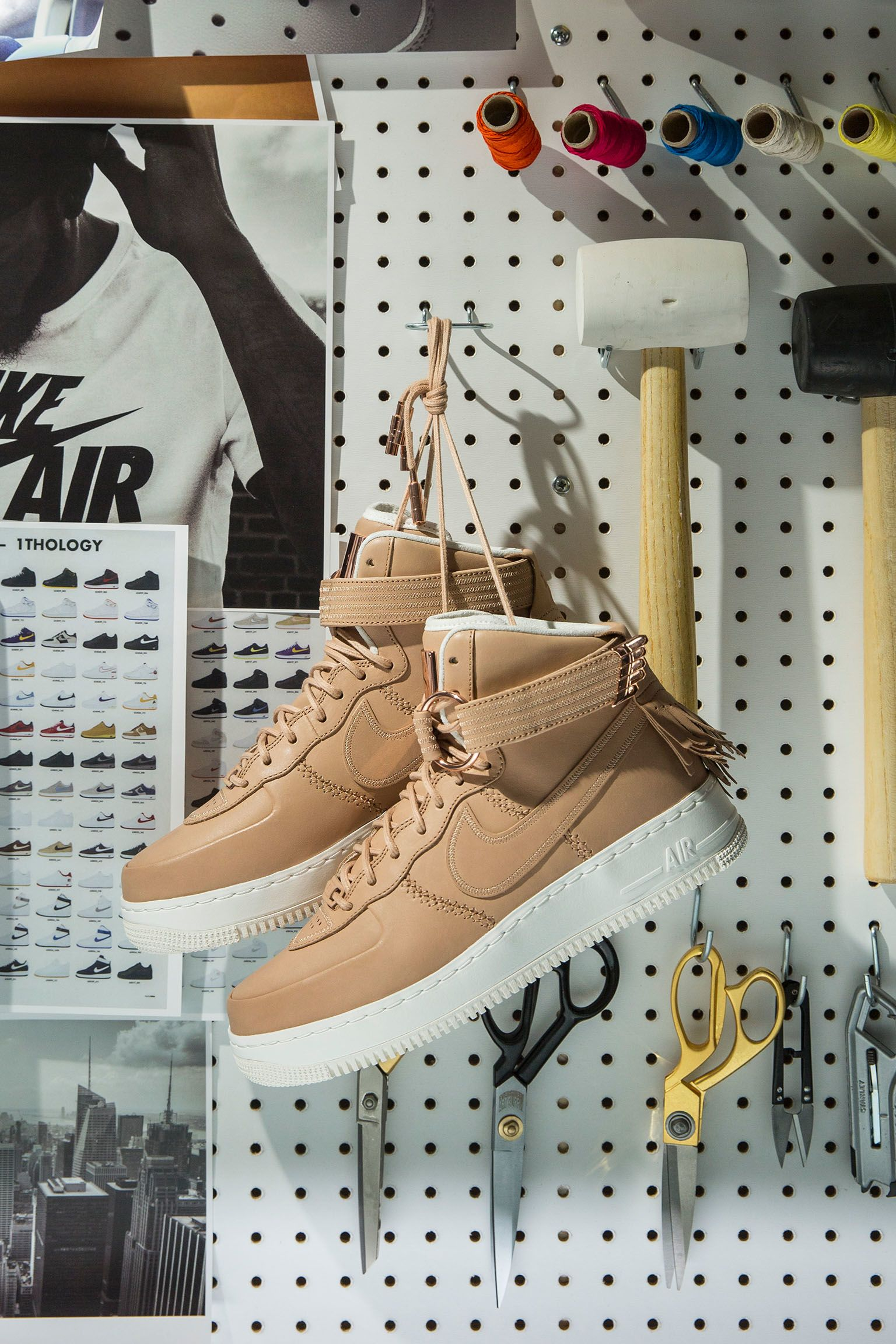 Behind the Design: Nike Air Force 1 High Sport Luxury. Nike SNKRS