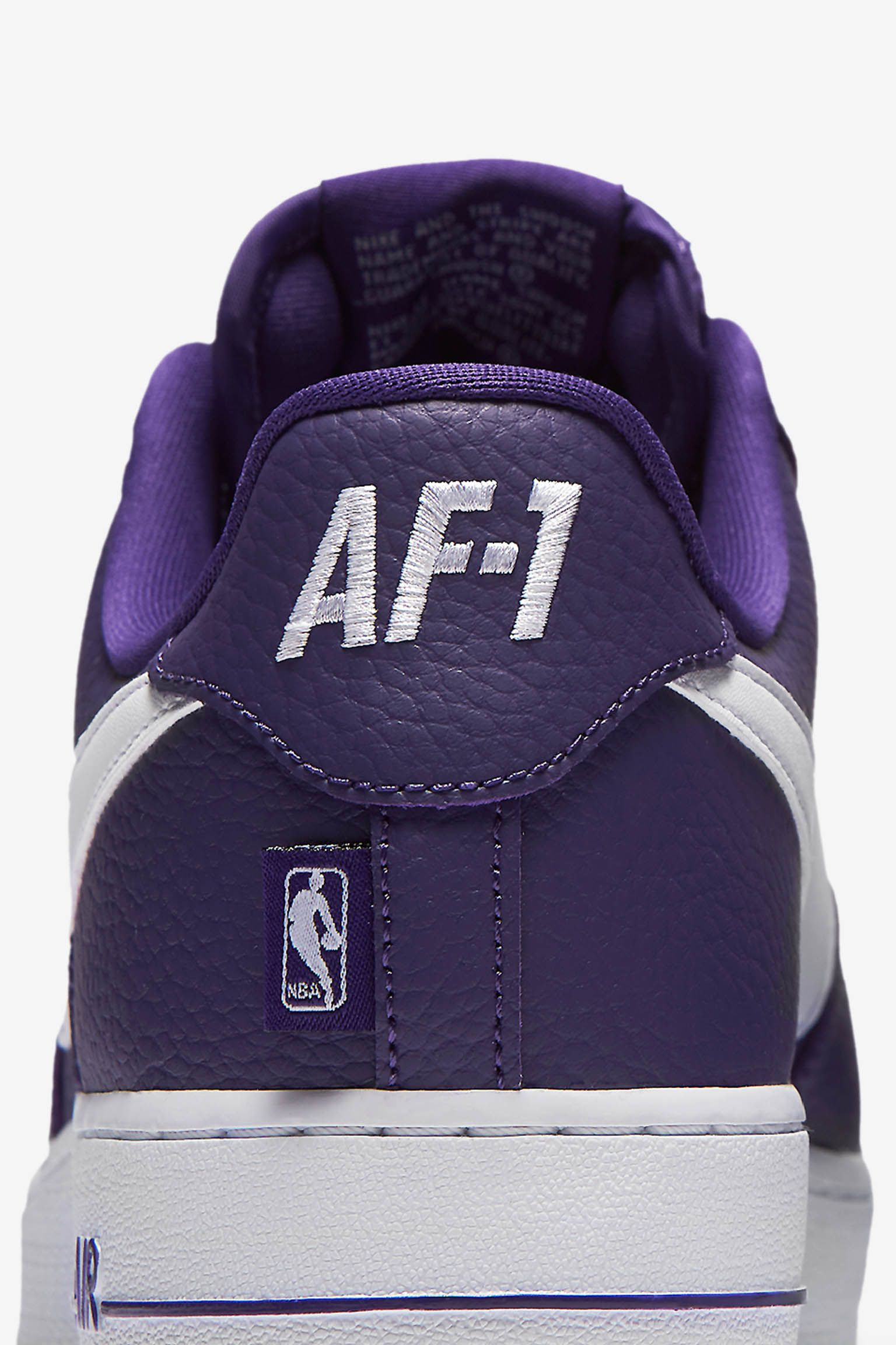 Nike AF-1 Low NBA 'Court Purple & White' Release Date. Nike SNKRS