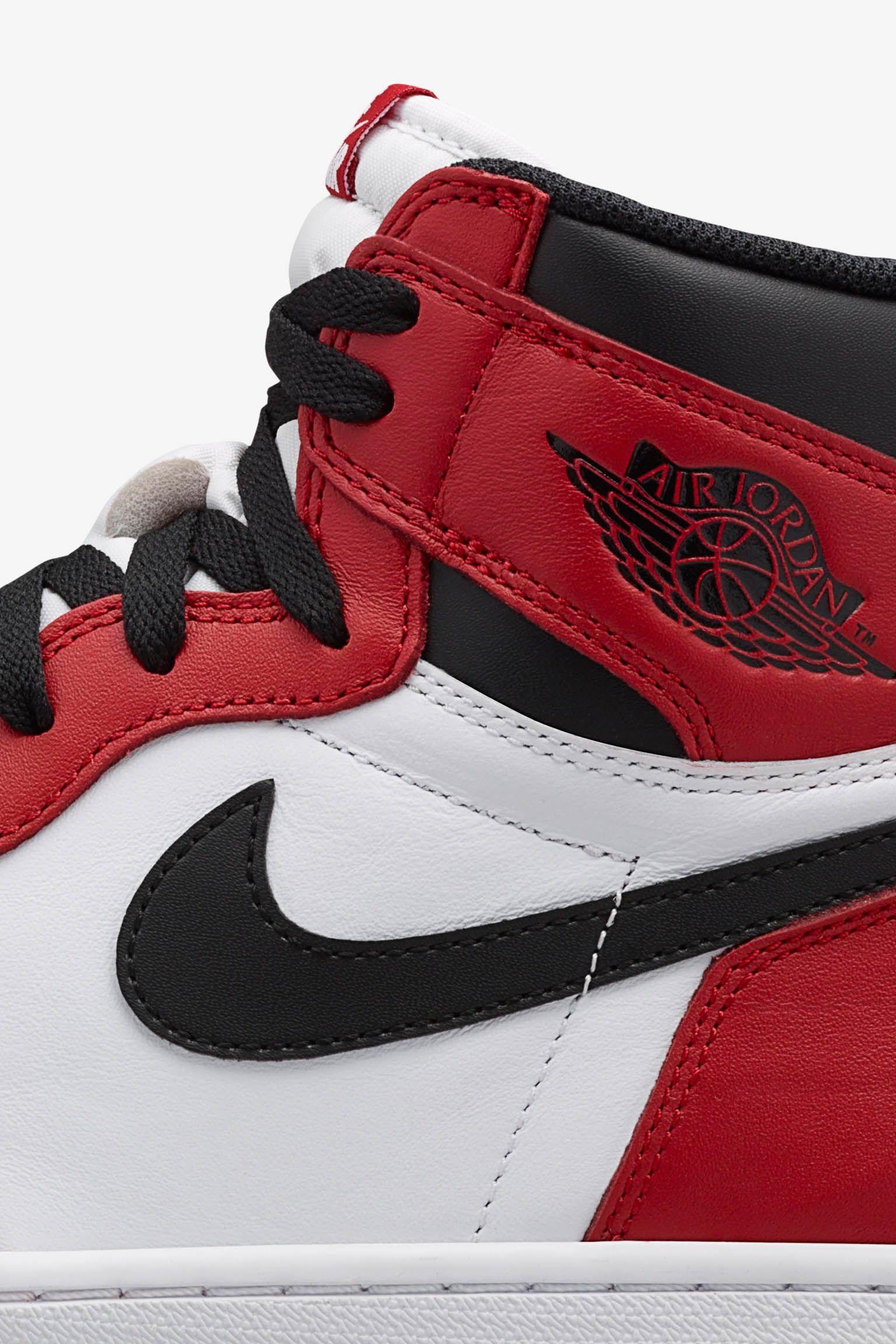 Air Jordan 1 Retro 'Chicago' Release Date. Nike SNKRS