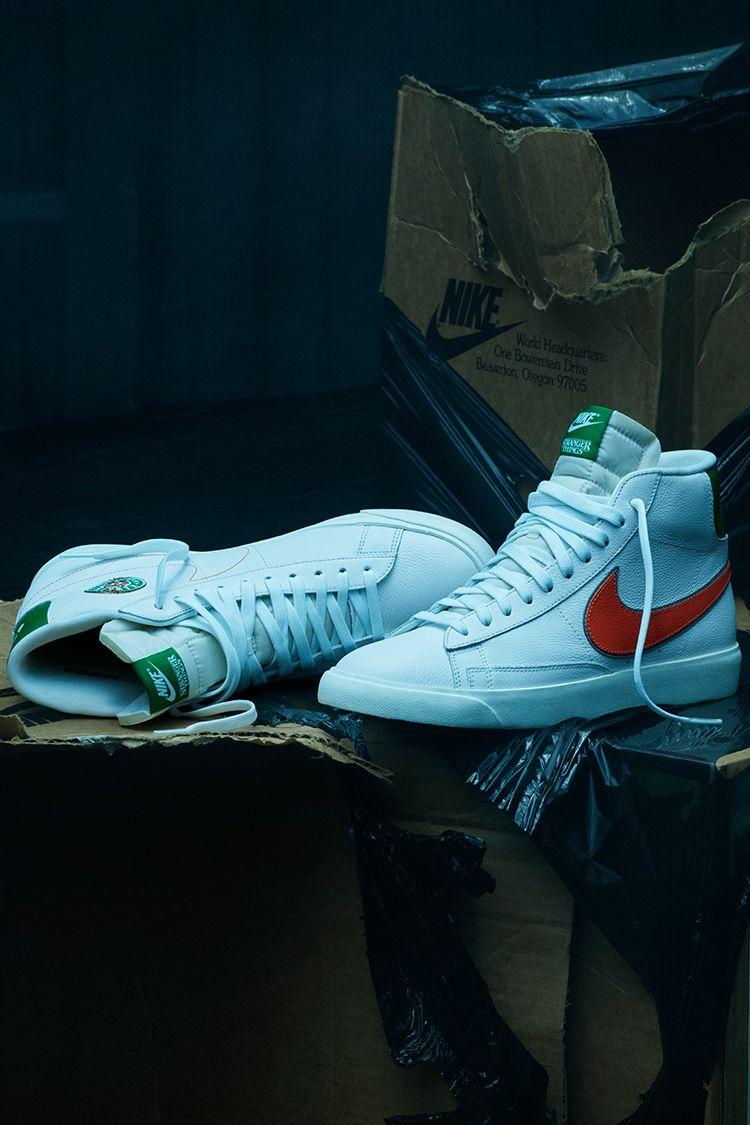 Nike x Stranger Things Blazer Mid 'Hawkins High' Release Date ...