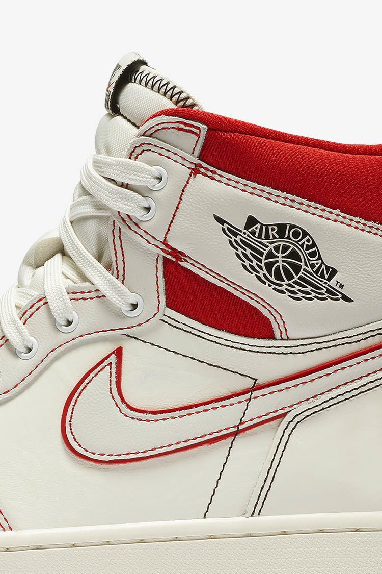 air jordan 1 voile rouge