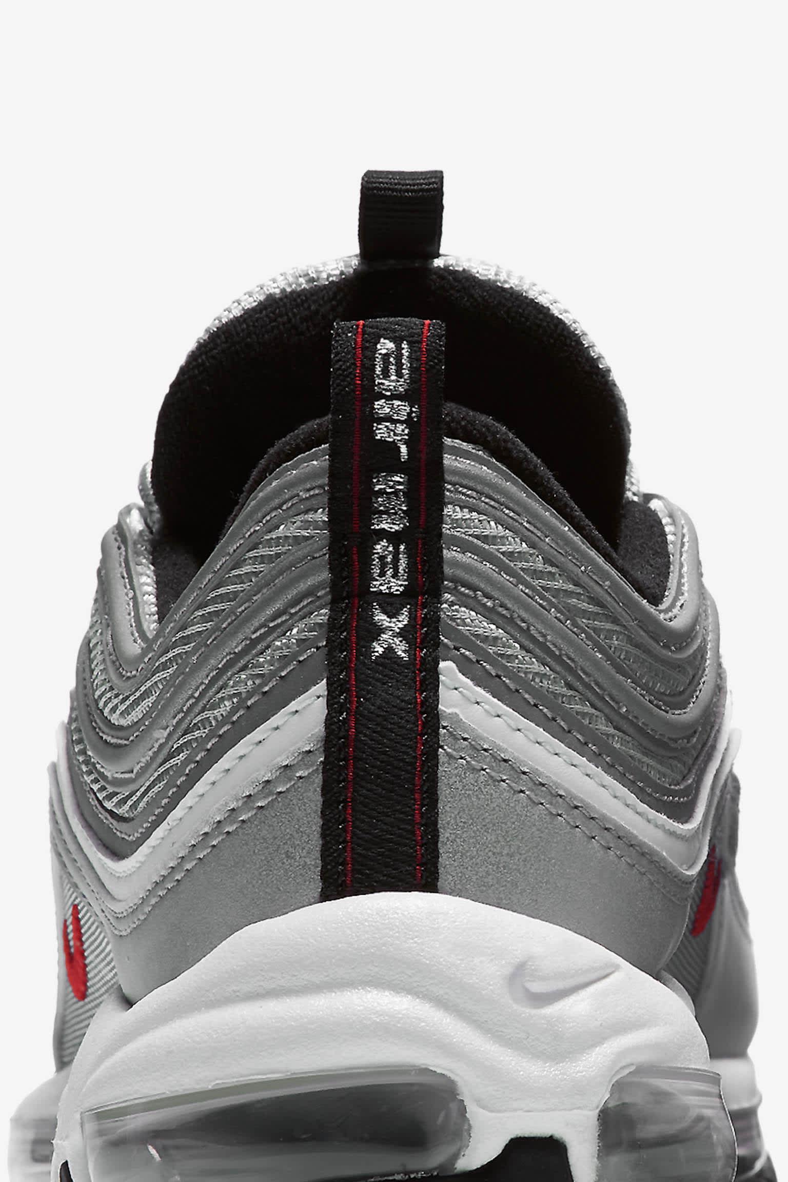 Women's Nike Air Max 97 OG 'Metallic Silver'. Nike SNKRS