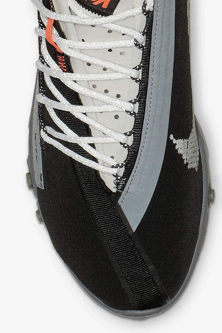 Nike React Runner WR ISPA 'Black & Metallic Silver & Gunsmoke ...