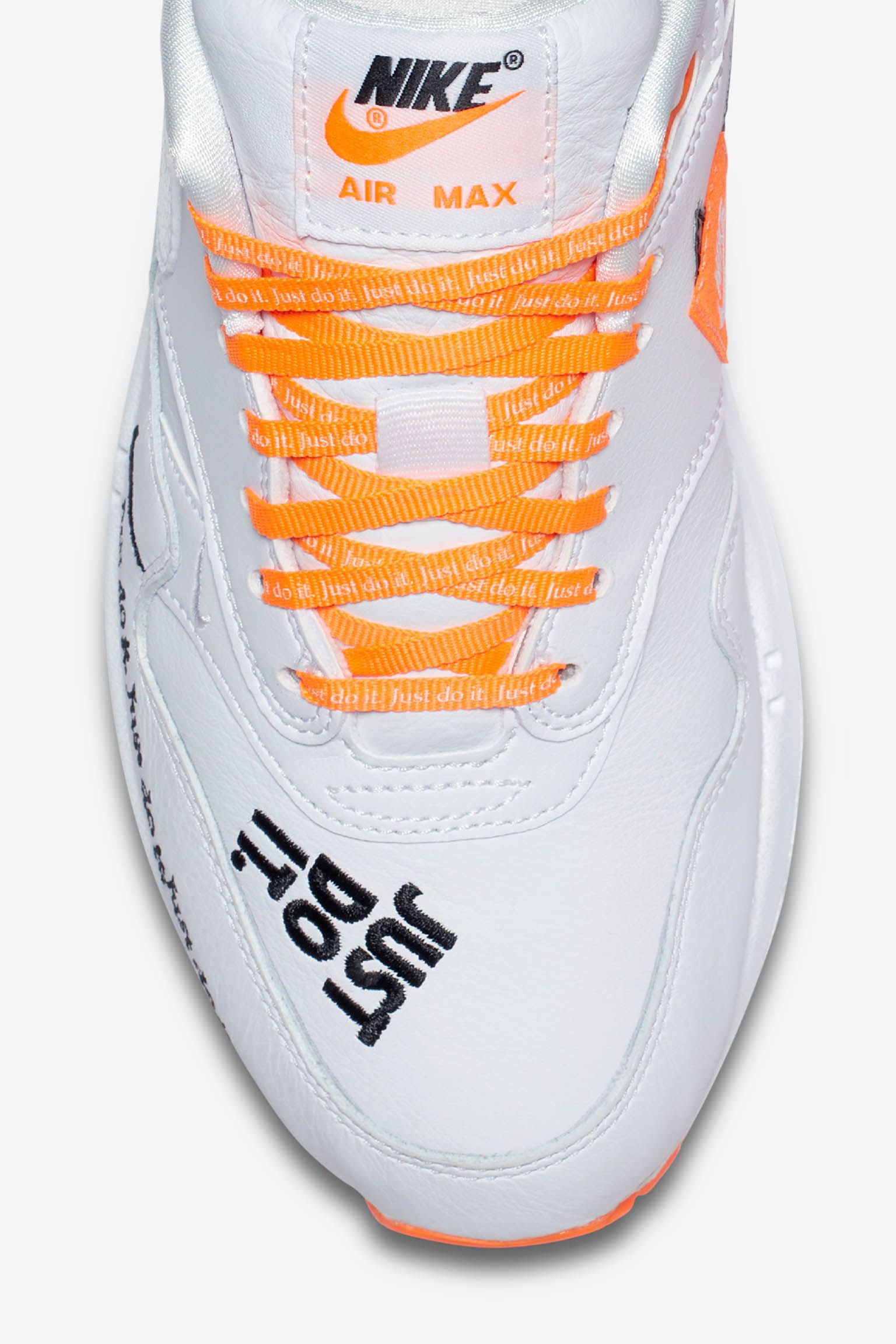 Date de sortie de la Nike Air Max 1 « White & Total Orange ...