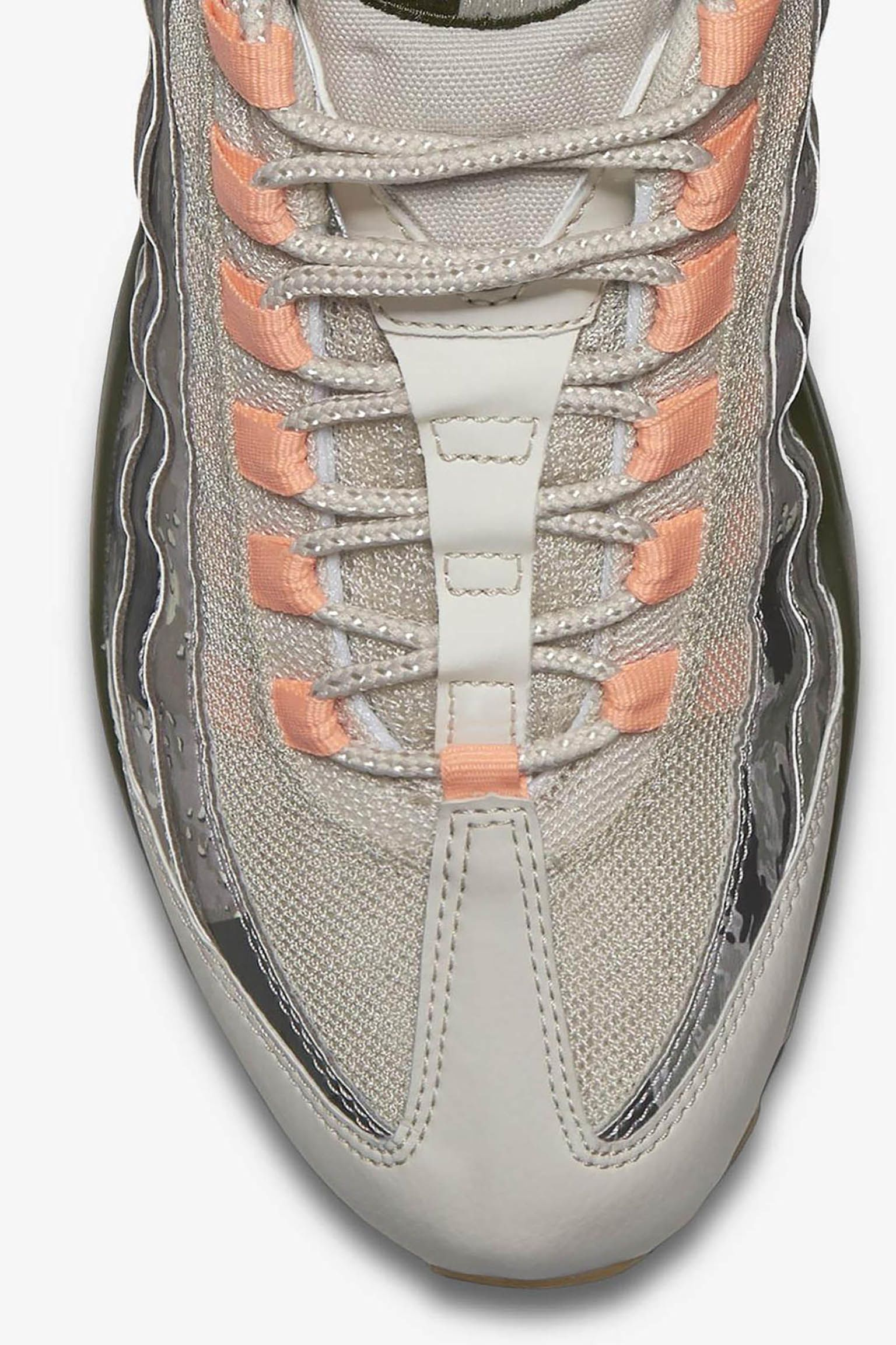 Nike Air Max 95 'Cargo Khaki & Sunset Tint' Release Date. Nike SNKRS