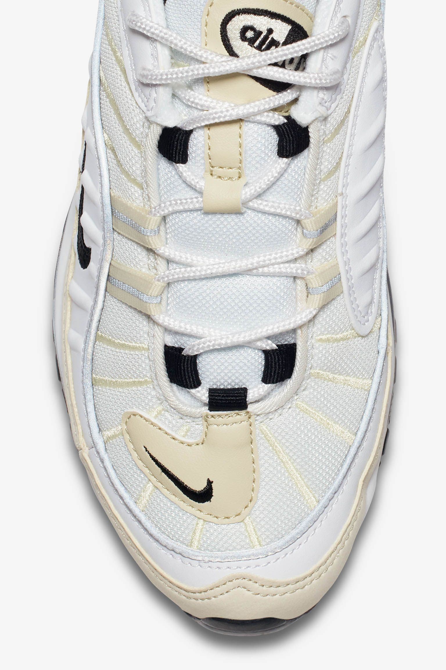 Nike Women's Air Max 98 'White & Black & Fossil' Release Date ...