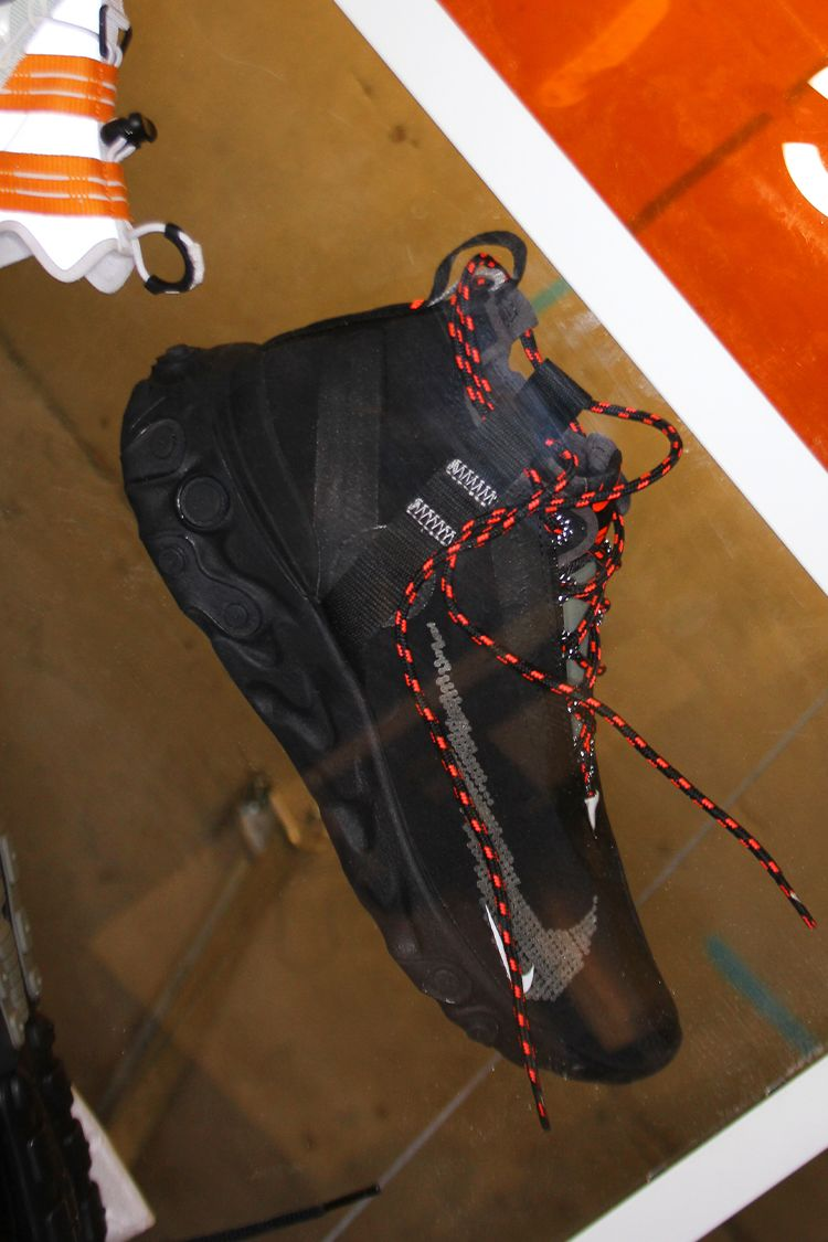 Nike React Runner Mid iSPA 'Black & Anthracite & Total ...