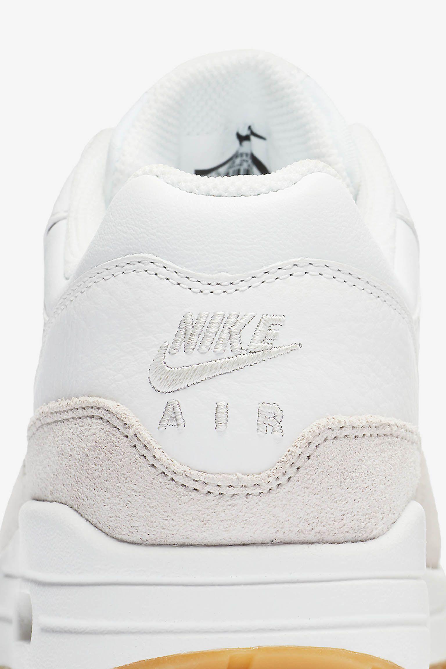 Date de sortie de la Nike Air Max 1 Premium « Summit White & ...