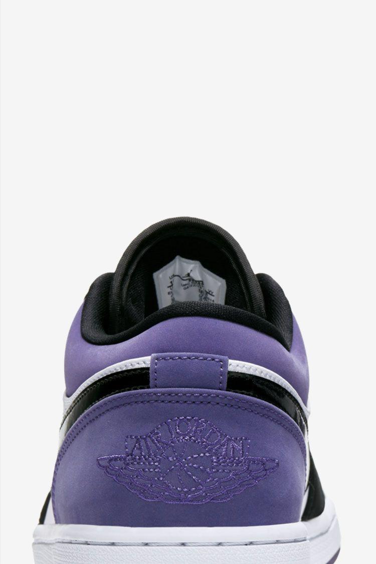 Air Jordan 1 Low 'Court Purple' Release Date. Nike SNKRS MY