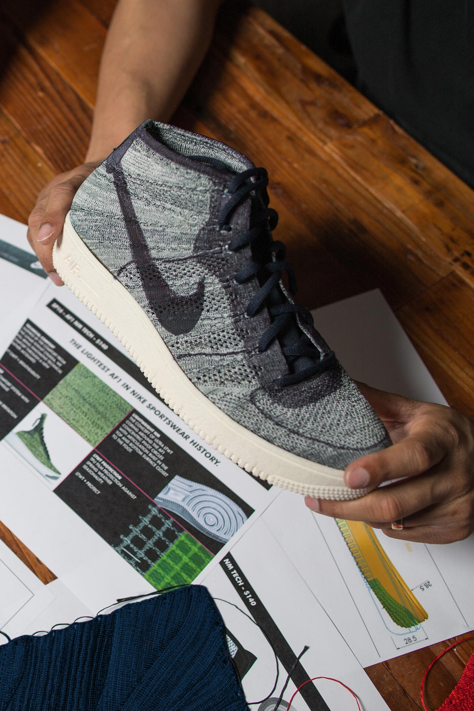 Behind the Design: Nike Air Force 1 Ultra Flyknit. Nike SNKRS LU