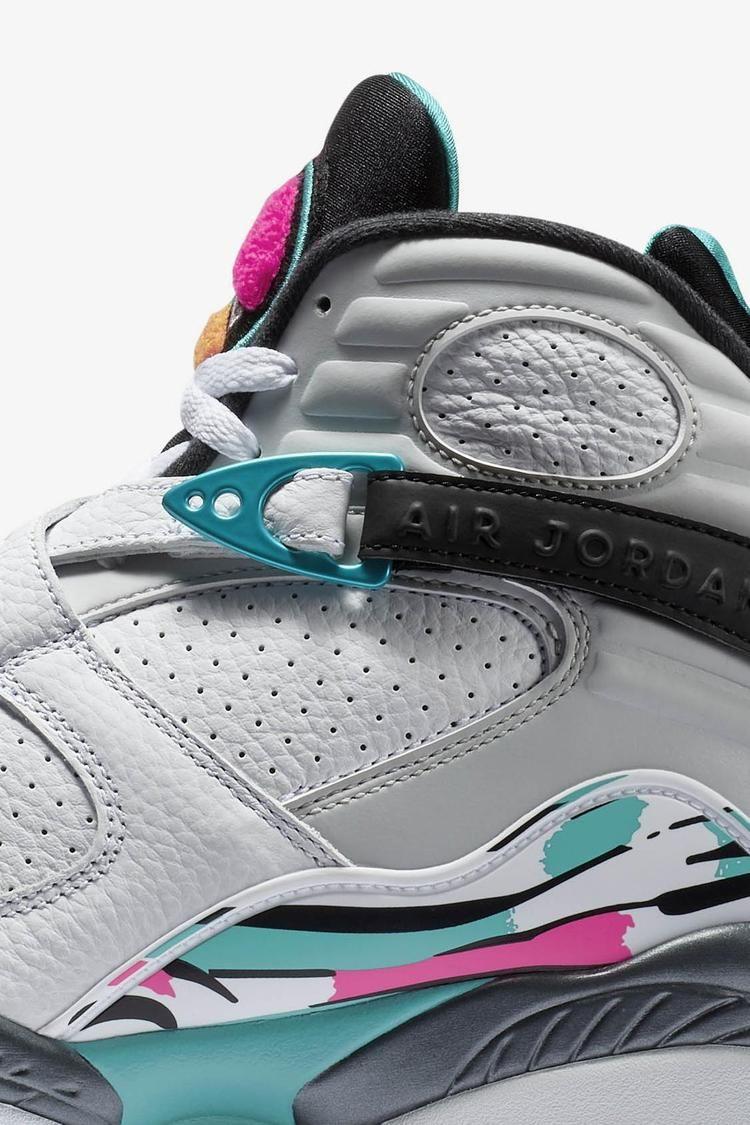 Air Jordan 8 Retro 'White & Turbo Green' Release Date. Nike SNKRS