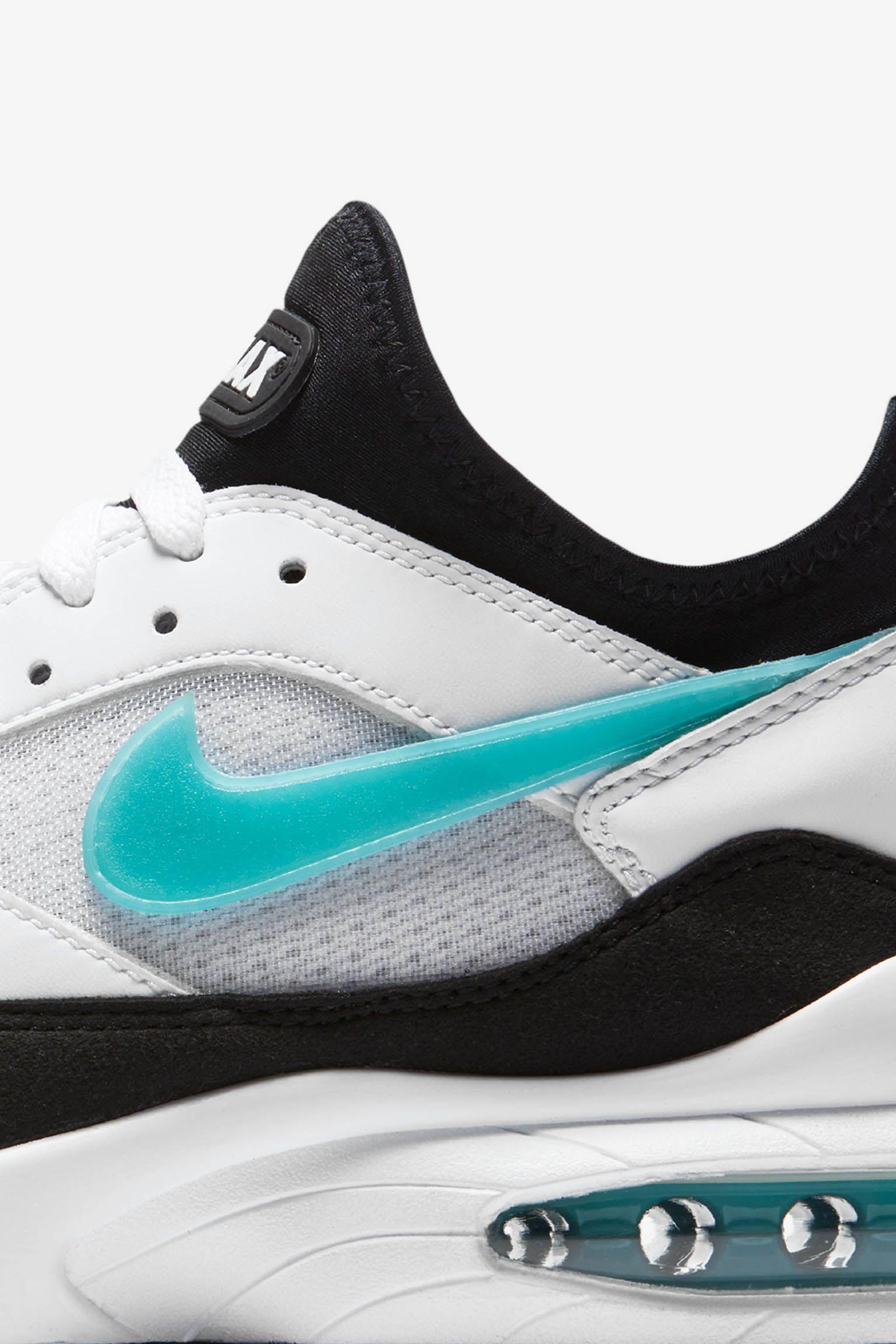 Date de sortie de la Nike Air Max « White & Sport Turquoise ...