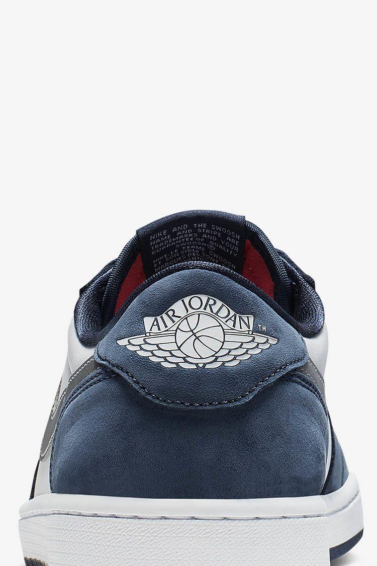 SB x Air Jordan I Low 'Midnight Navy' Release Date. Nike SNKRS