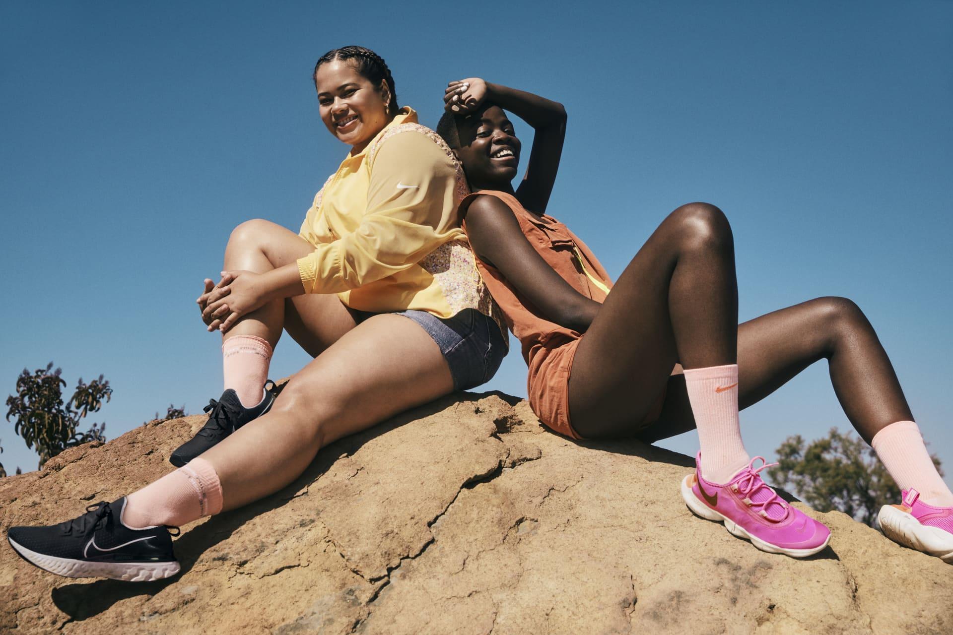 Finde anhand der Nike Größentabelle die perfekte Größe für dich.